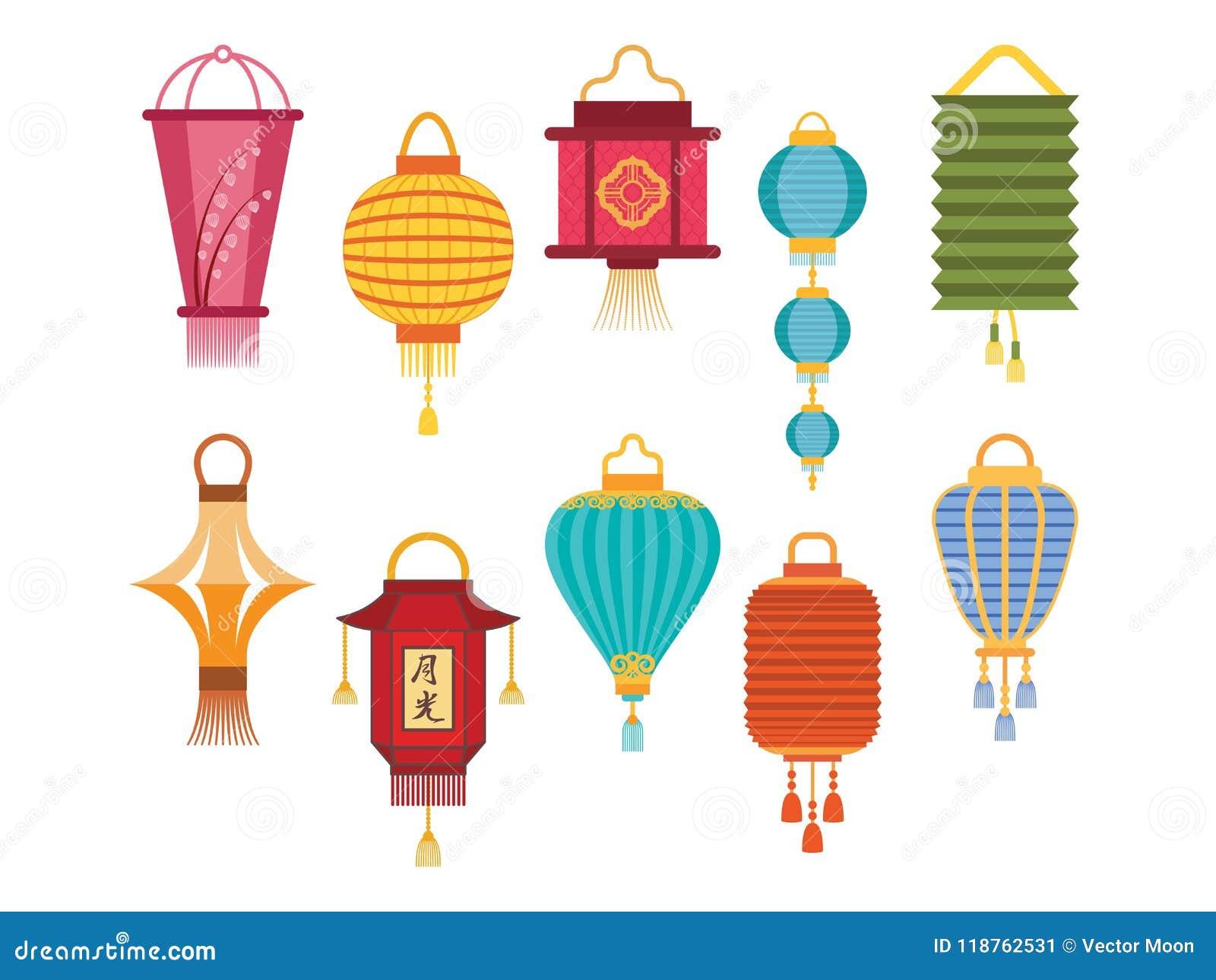 Les Vacances Chinoises De Papier De Lumiere De Lanterne Celebrent L