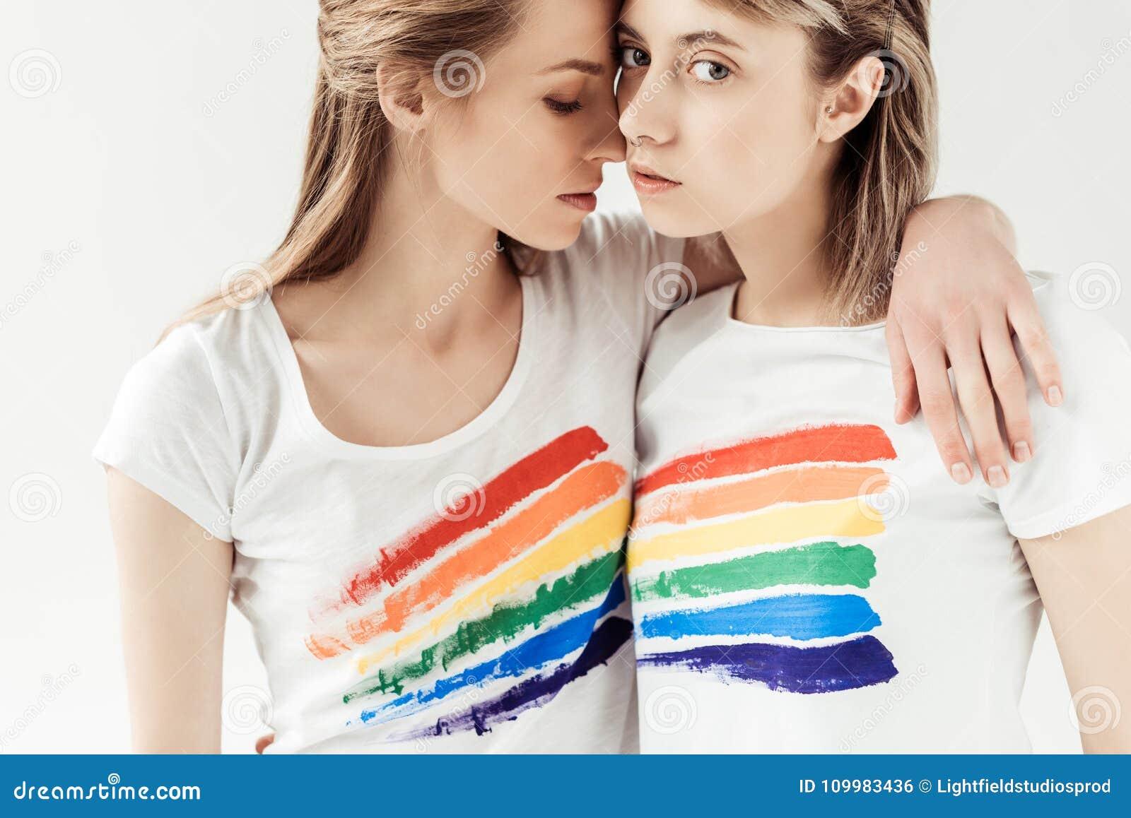 Schwarze Weiße Lesbierin Lesbierin Lesbisch