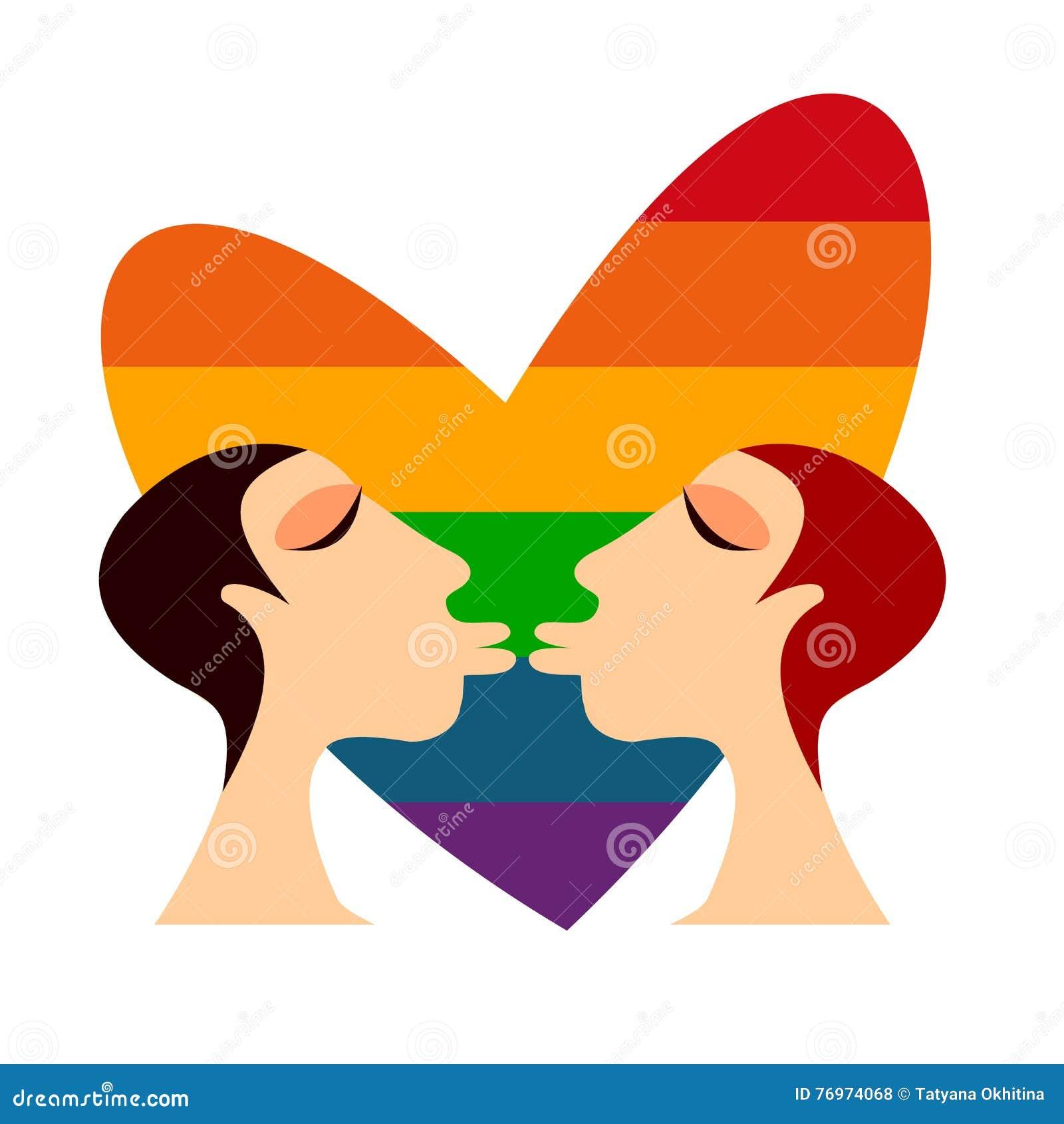 free clips lesbian kissing
