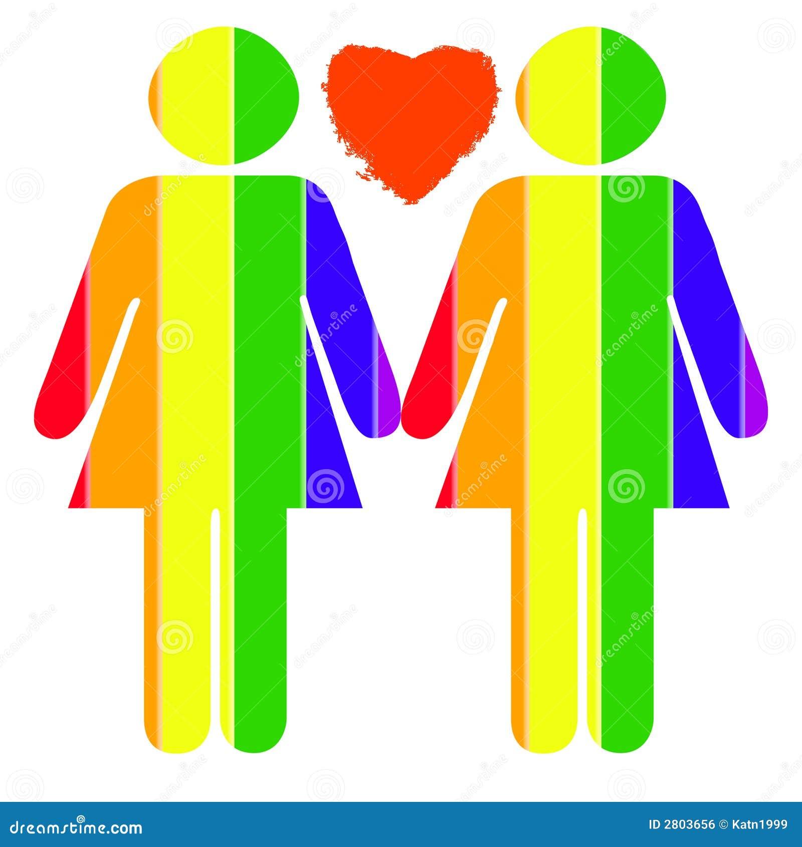 Graphic lesbian pride
