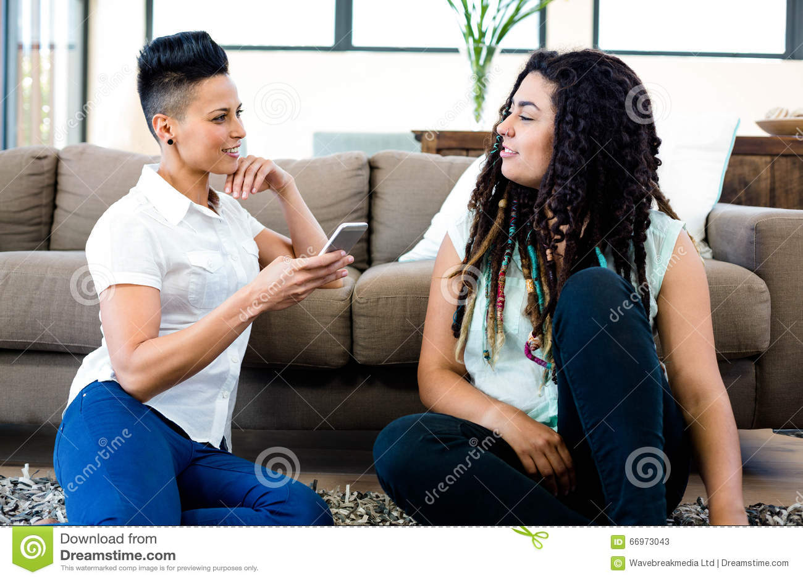 Lesbische mobiele