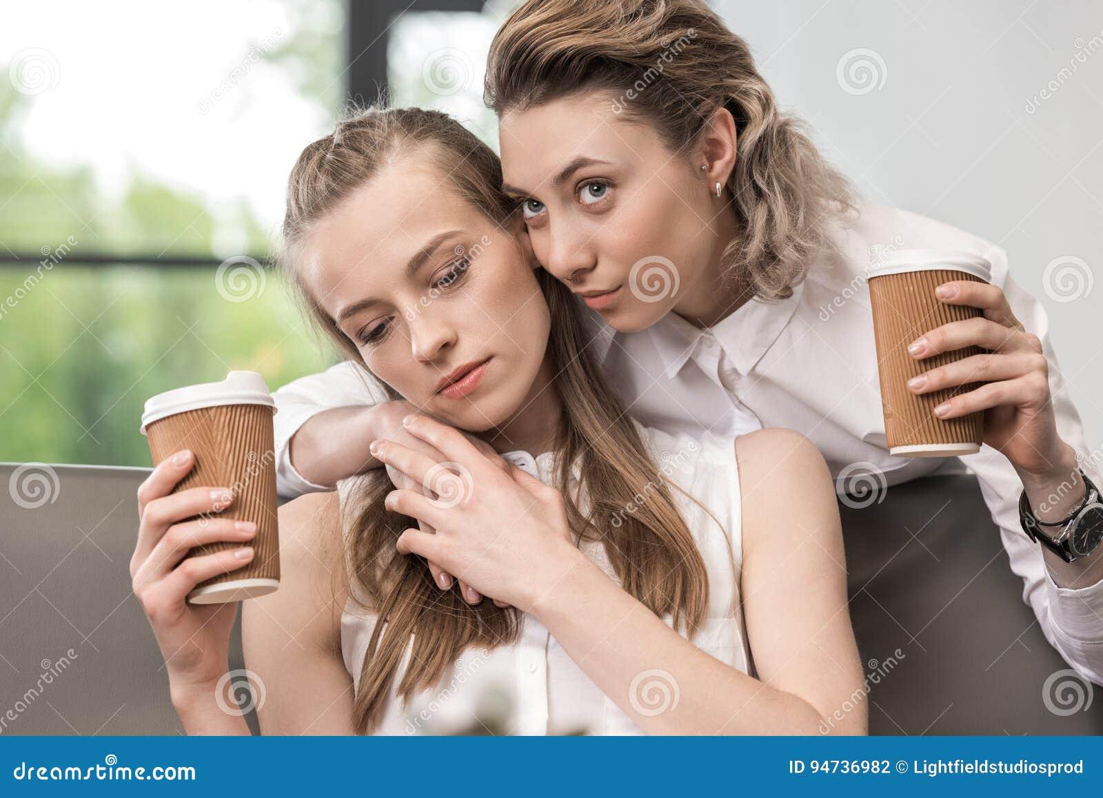 Ung svart tonåring lesbisk