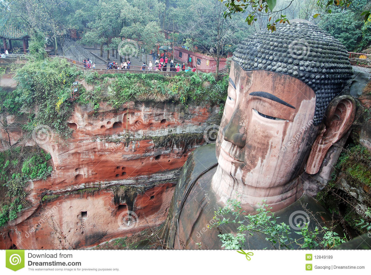 Leshan Giant Buddha in Mt.Emei