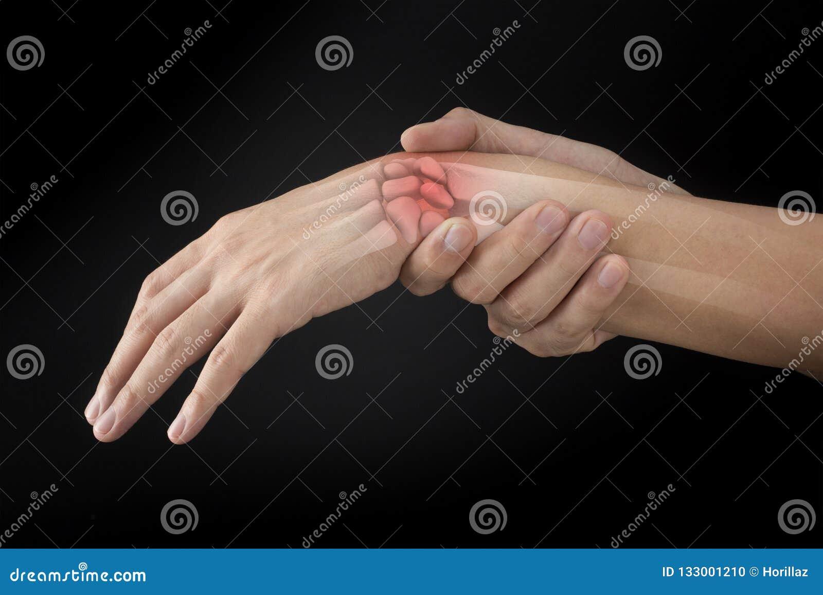 Lesione delle ossa di polso