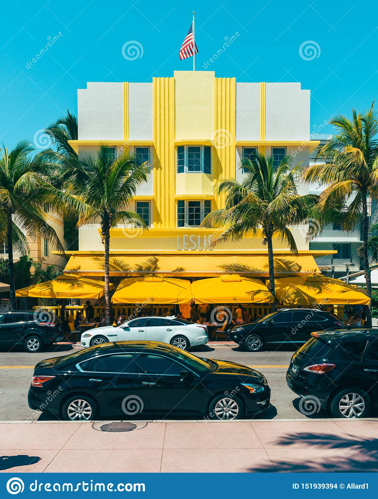 Leslie Hotel in Miami South Beach Florida USA