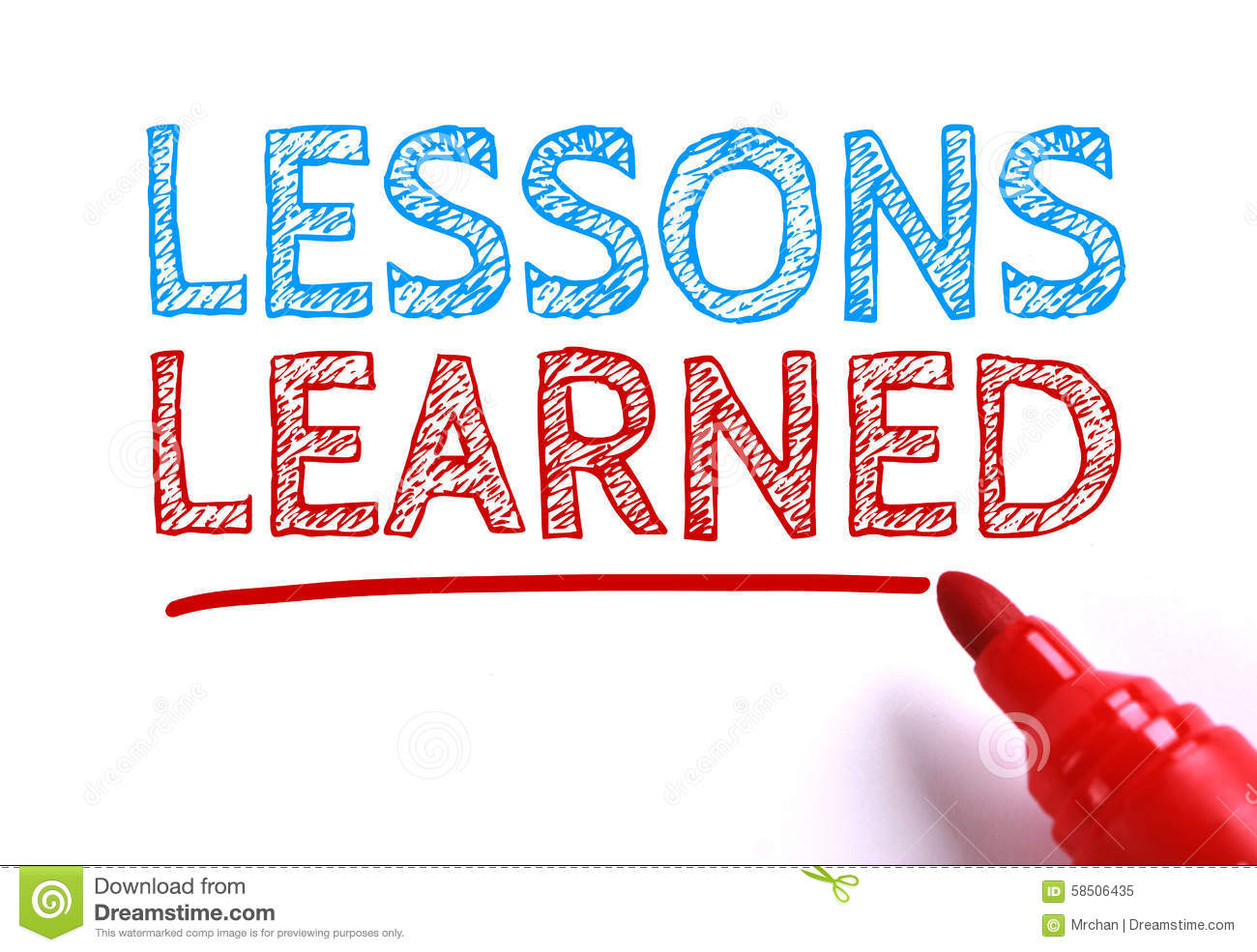 lessons learned stock image image of note educate evaluation  lessons learned