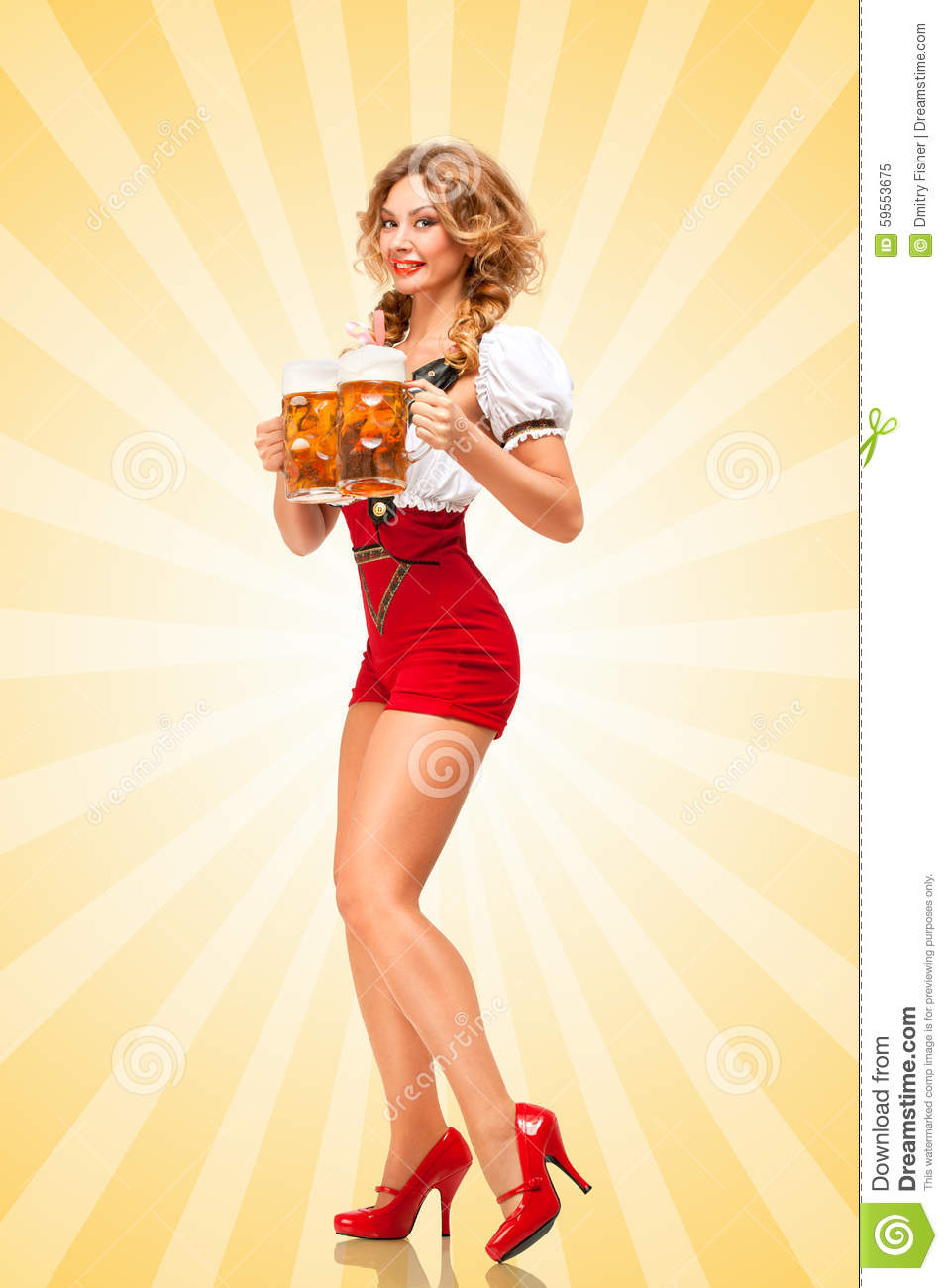 Sexy Woman With Beer  Hot Girls Wallpaper