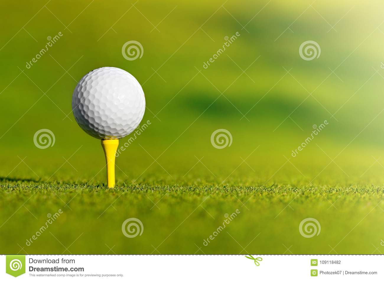 Let`s golf today!