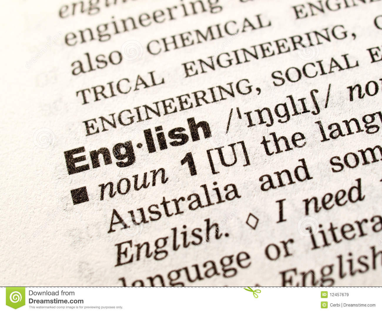 Letu0027s Learn English! Royalty Free Stock Images Image