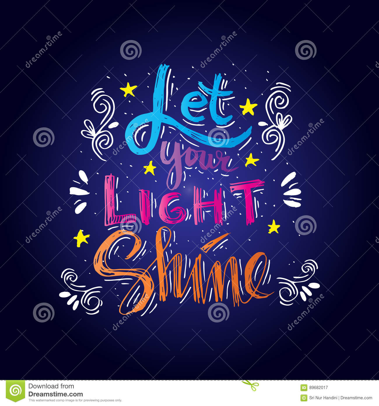 Let Your Light Shine Stock Illustration Illustration Of Decoration