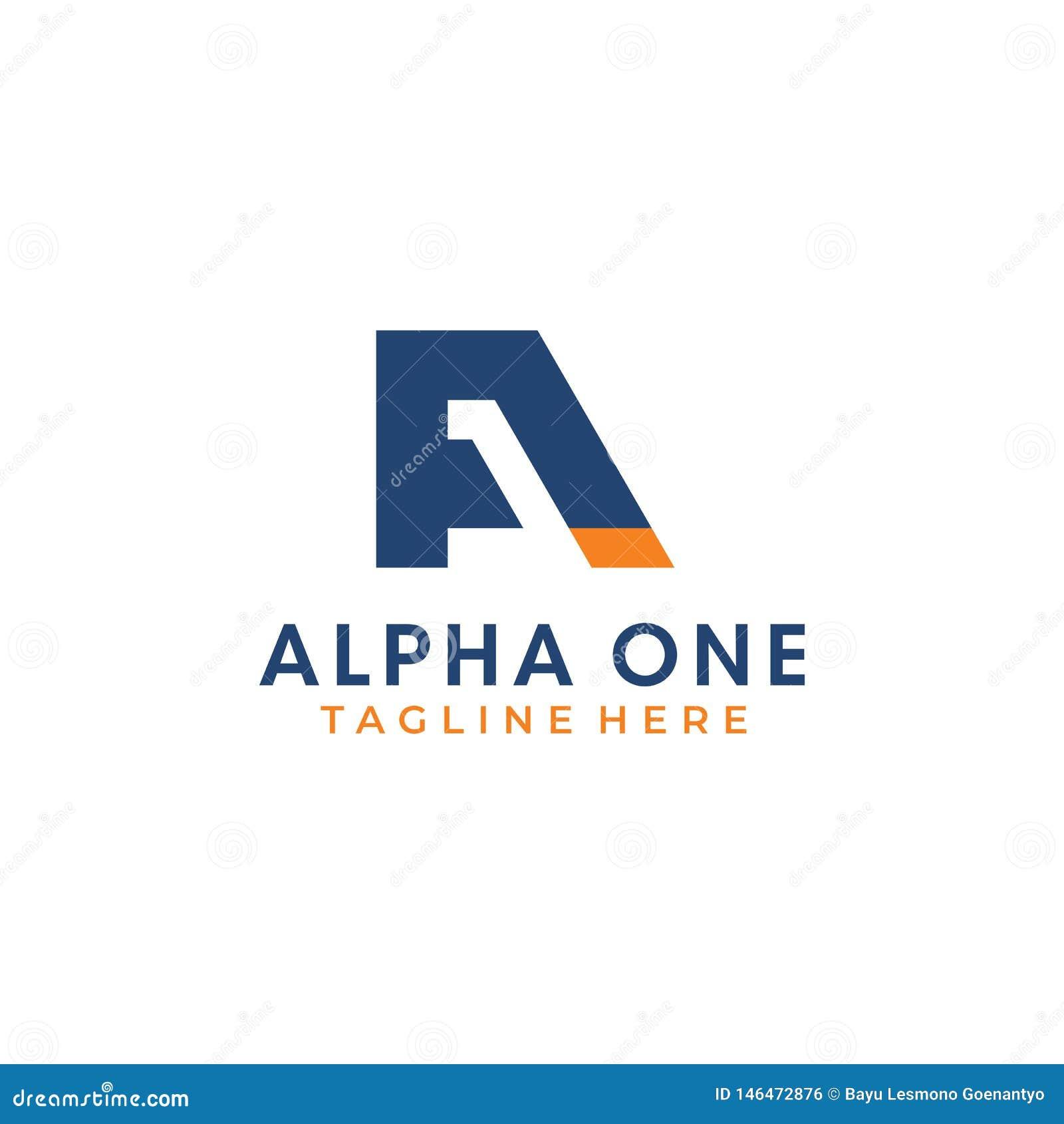 A-1 letra Alpha One