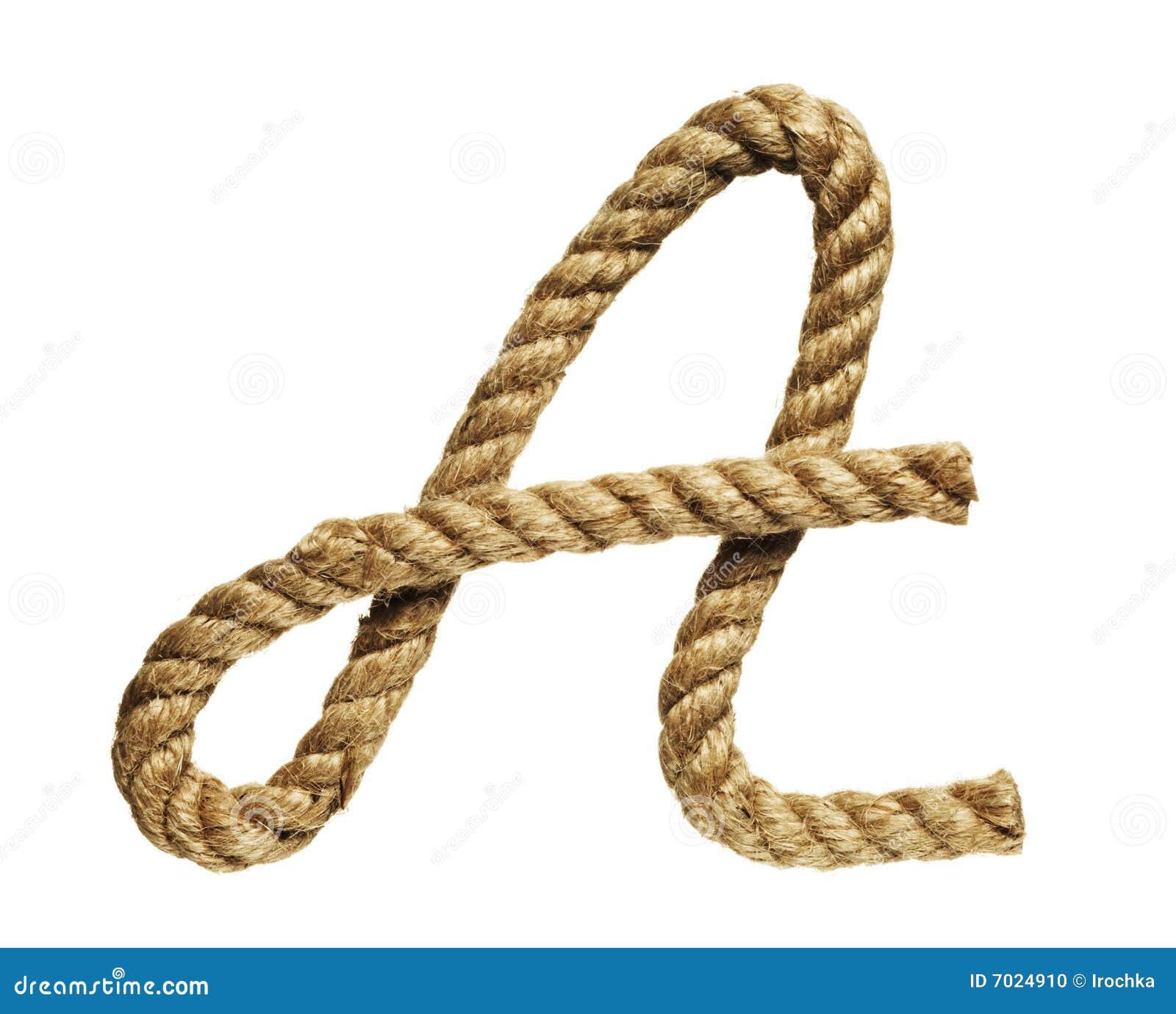 Letra de formación de la cuerda A