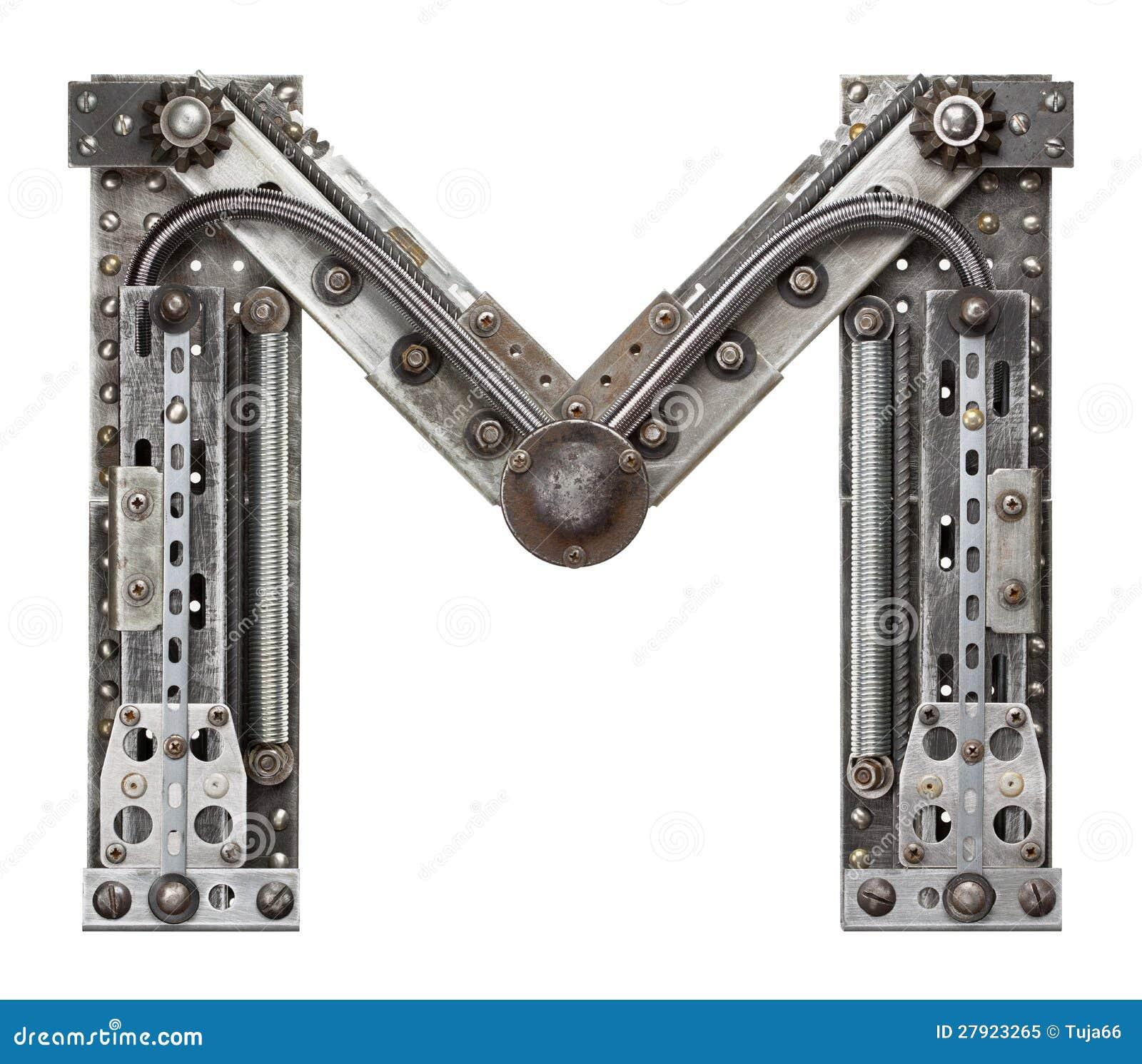 Letra do metal