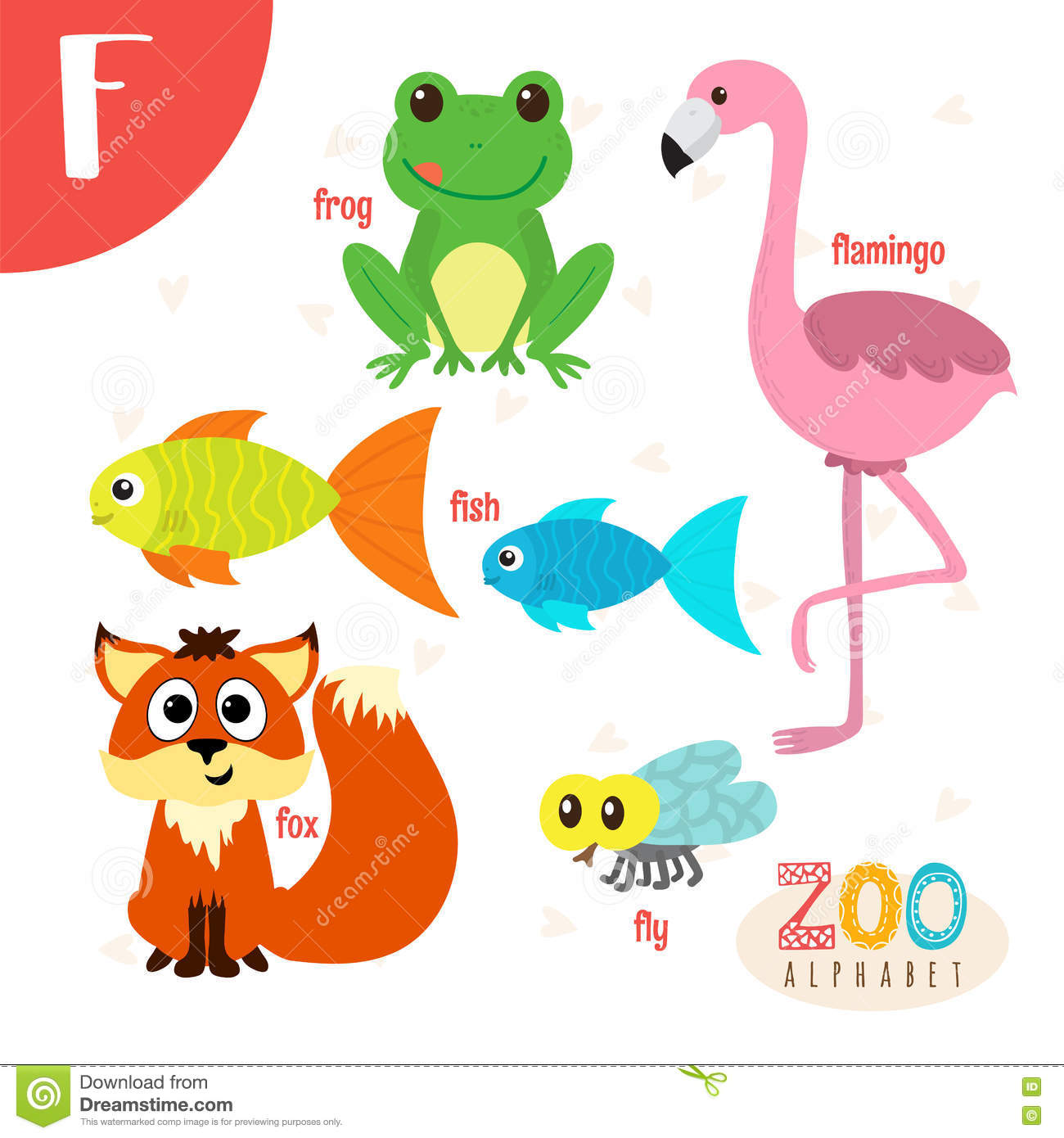 Animals Starting Whith The Letter F