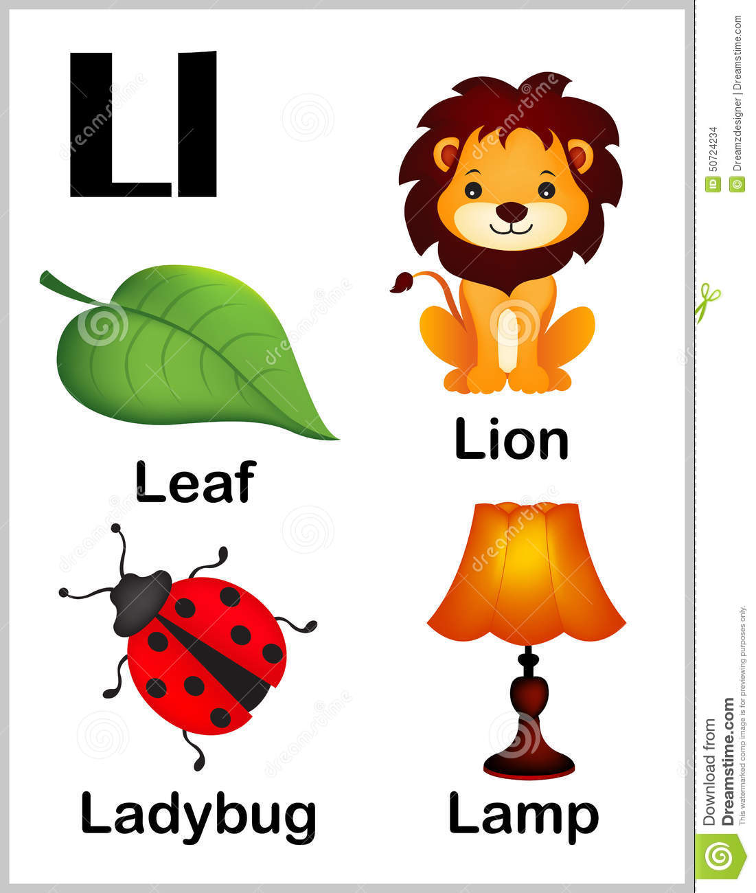 Letter Words Beginning With Ll