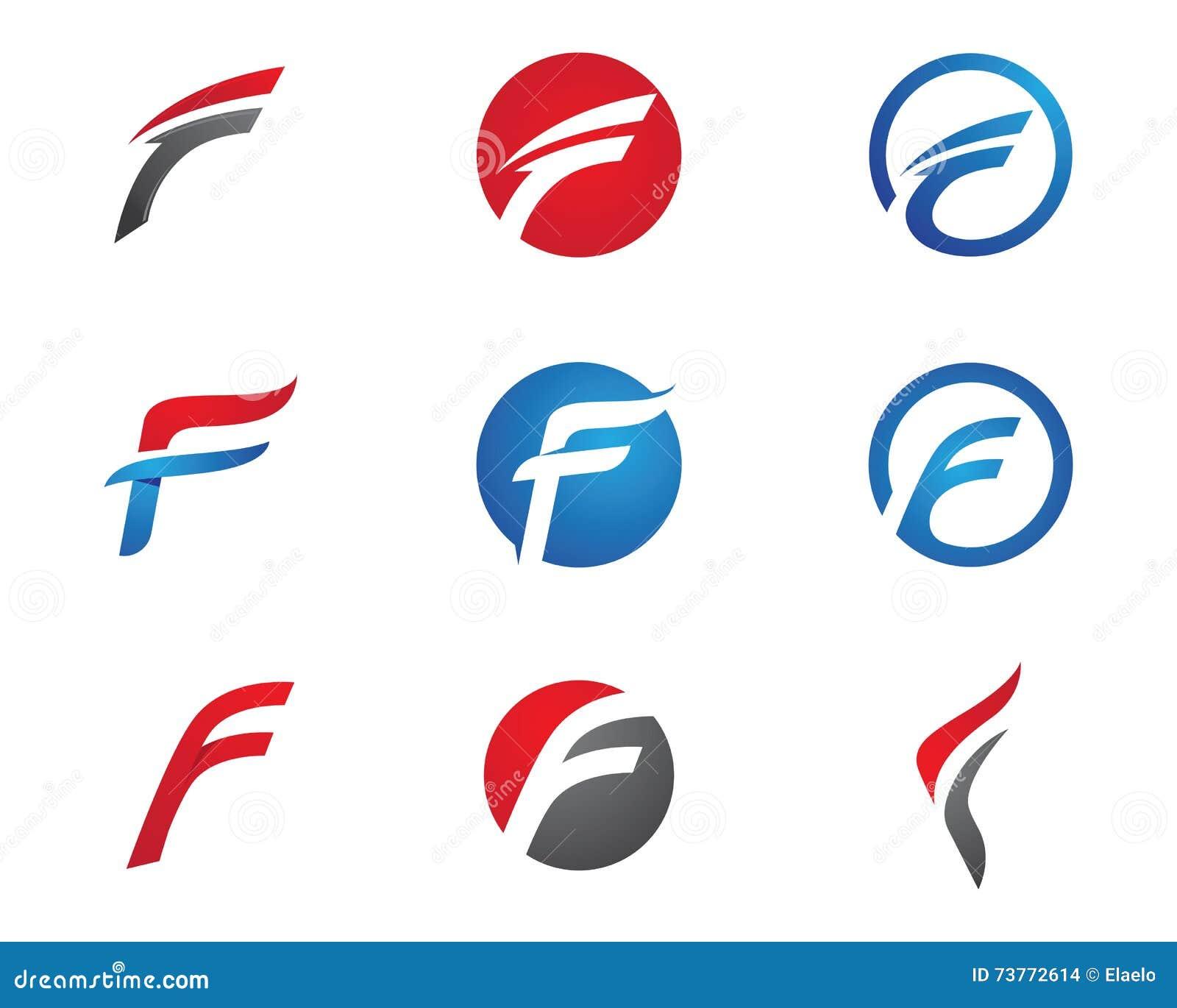 F en letra de carta
