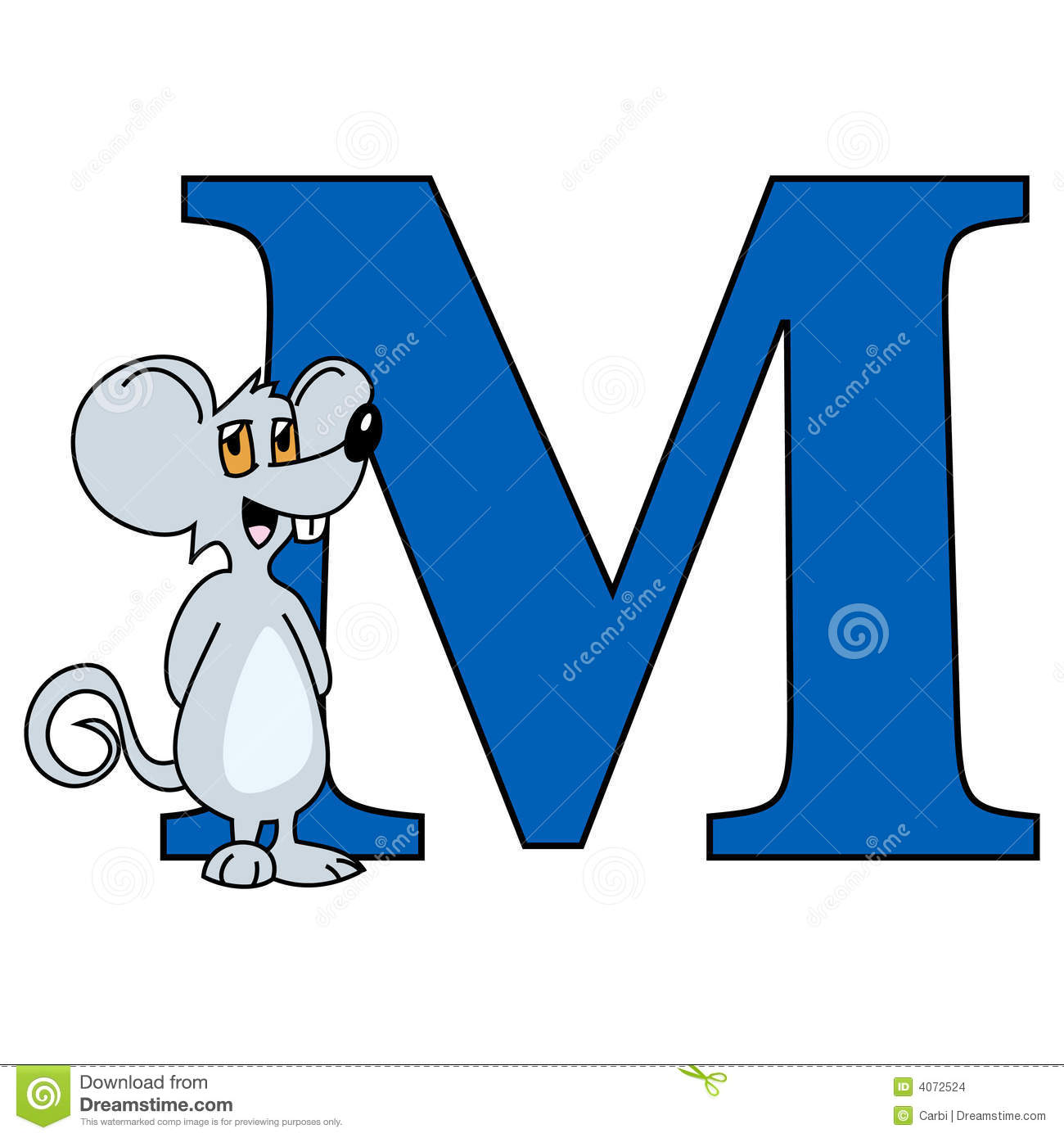 Animated Letter ...M Alphabet Animation