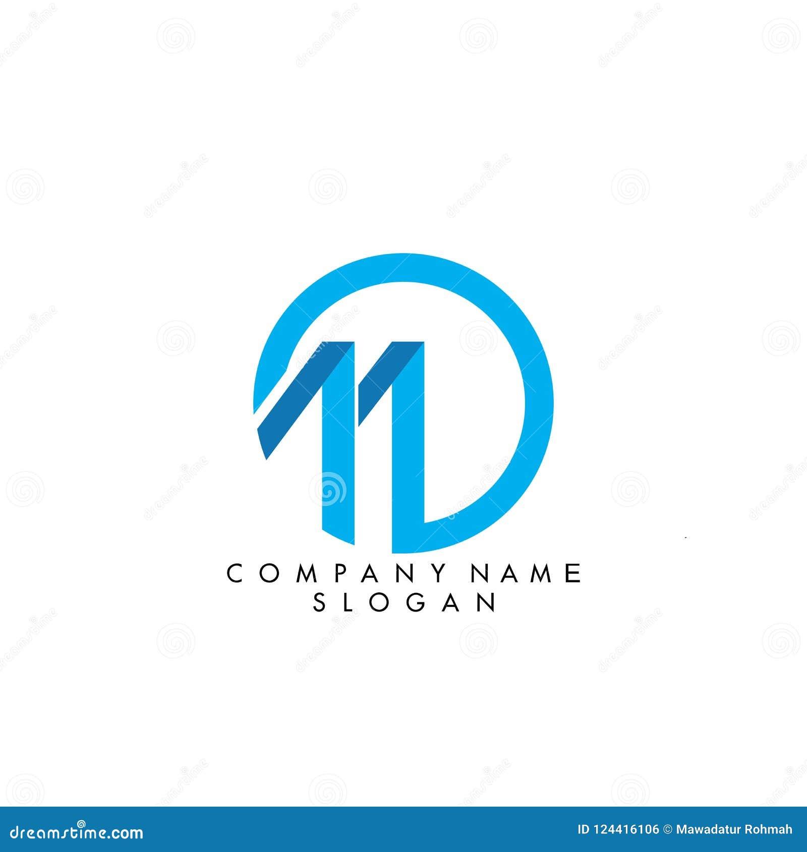 Letra M Logo Design