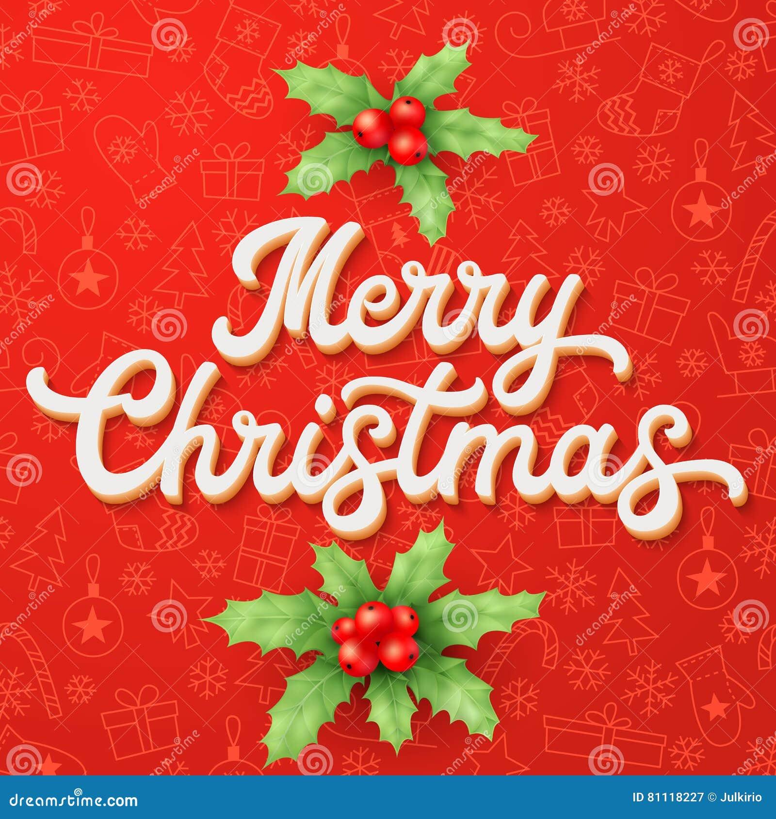 letras blancas de navidad d en fondo rojo de la navidad la decoracin para las tarjetas