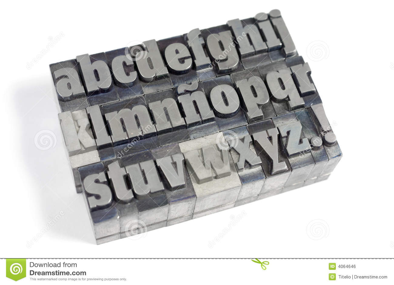 Letras de bloco