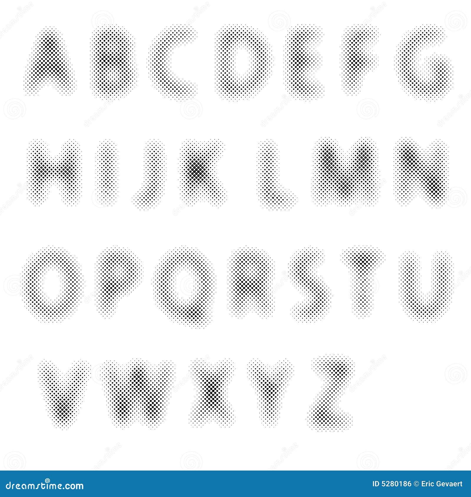 Letras de intervalo mínimo
