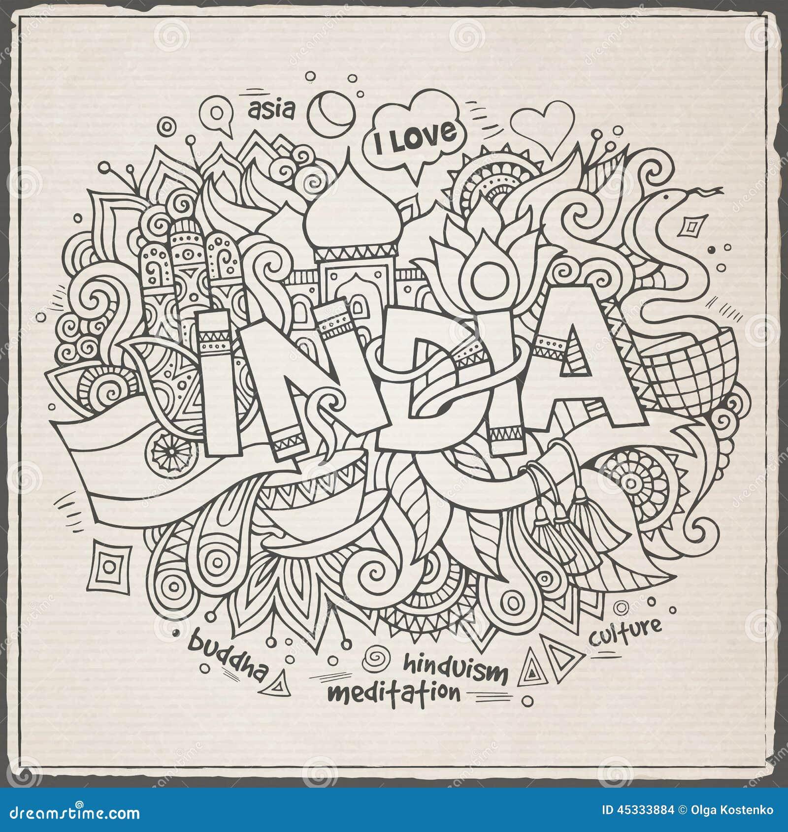 letras de la india: