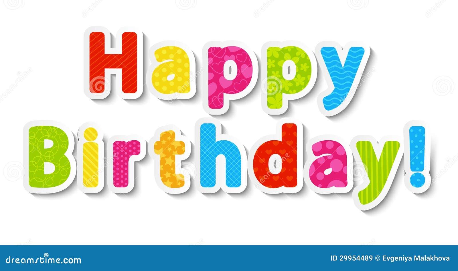letras de feliz cumpleaños