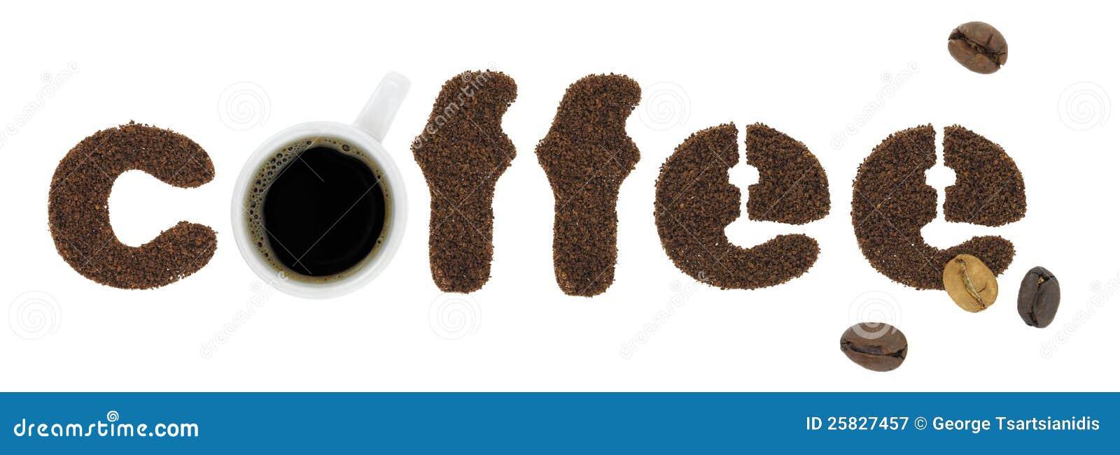 Letras do café