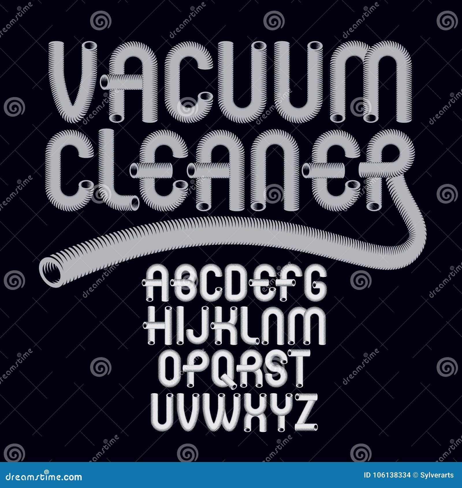Letras modernas capitales del alfabeto del vector fijadas Fuente de moda, escritura