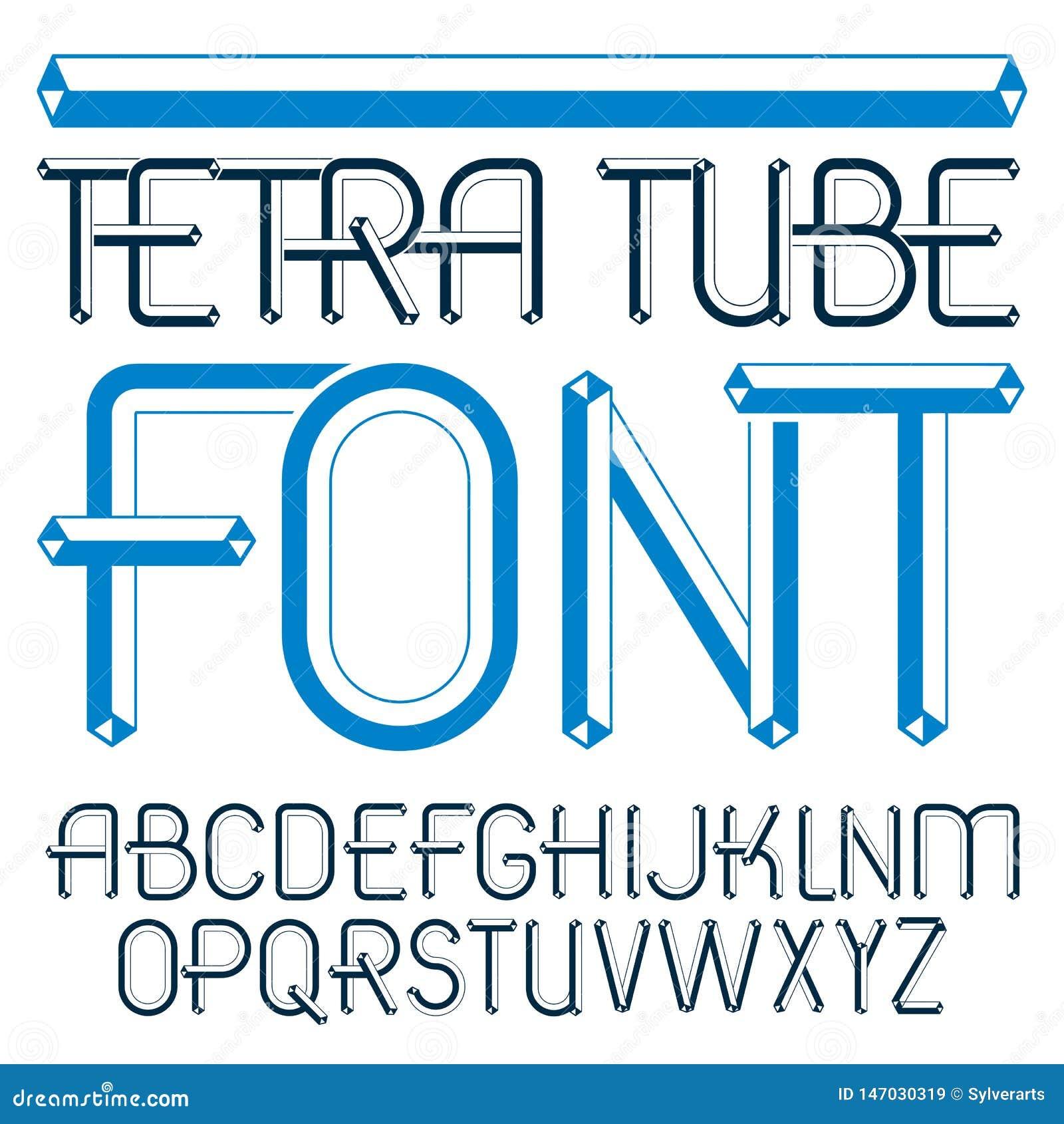 Letras modernas may?sculas del alfabeto del vector fijadas Fuente art?stica, mecanografiado para el uso en la creaci?n del logoti