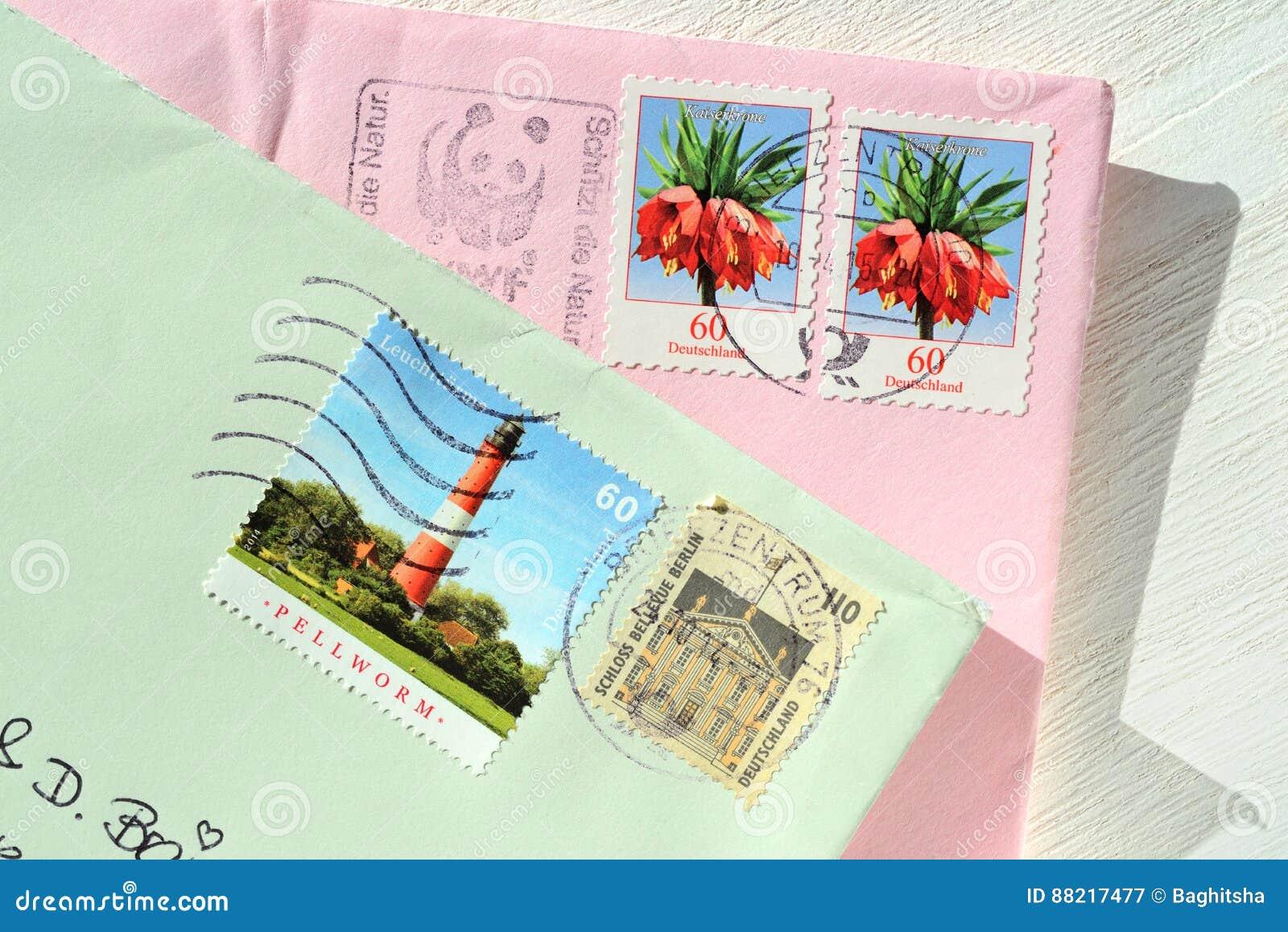 Letras y sellos