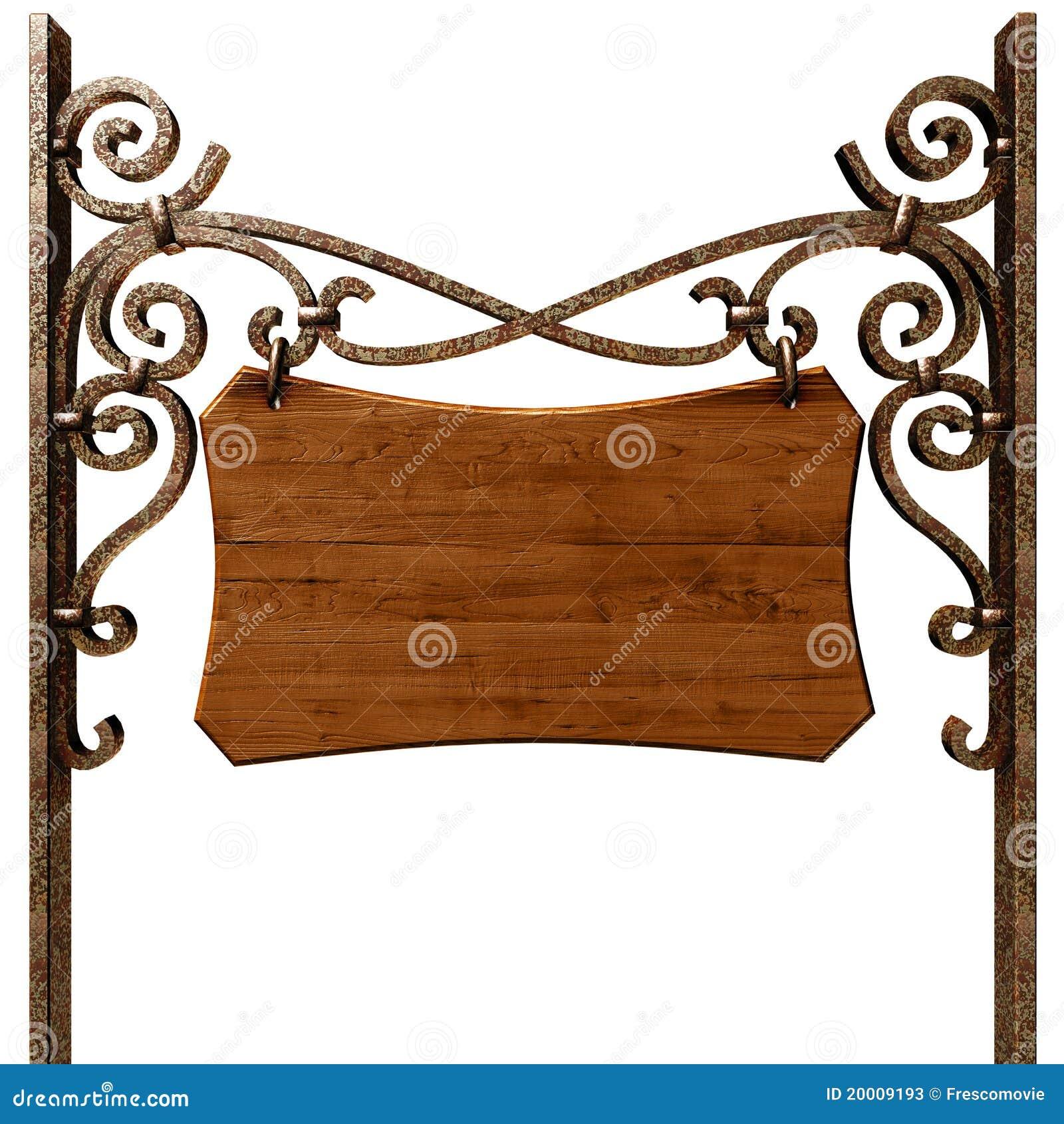 Letrero de madera viejo fotos de archivo imagen 20009193 - Letreros en madera ...