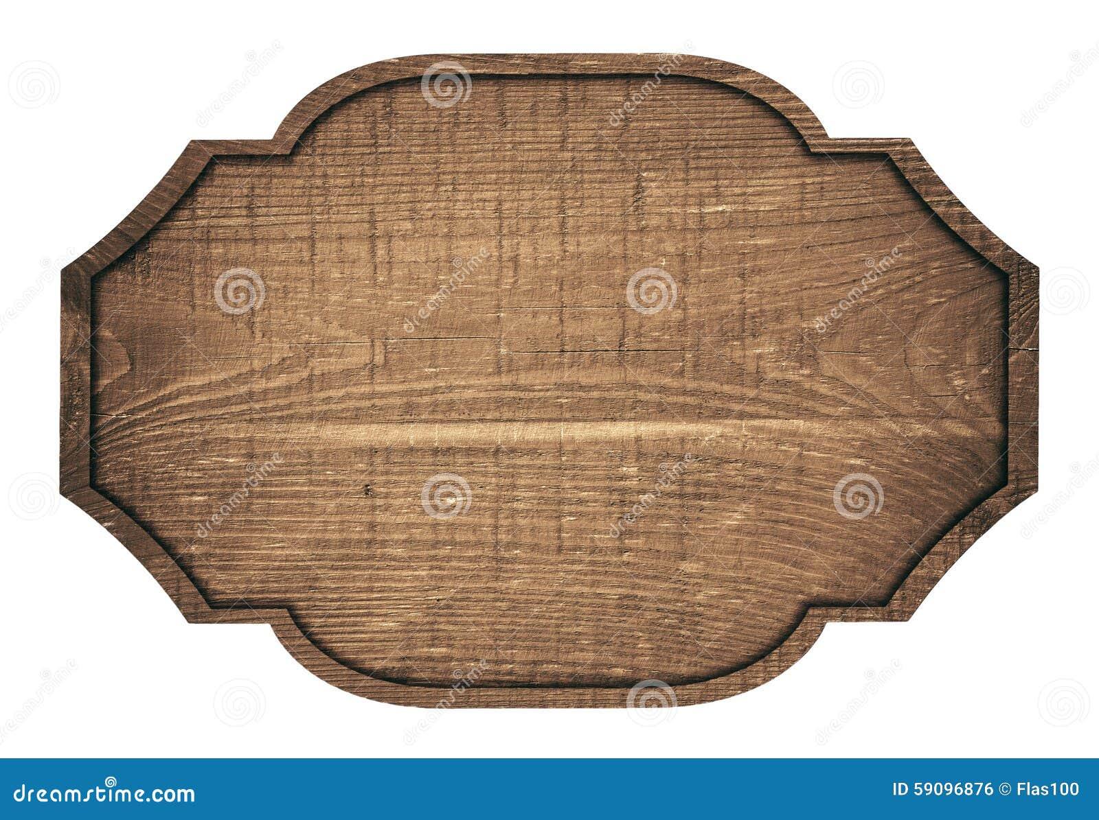 Letrero placa tabl n y oscuridad de madera de brown foto - Placa de madera ...
