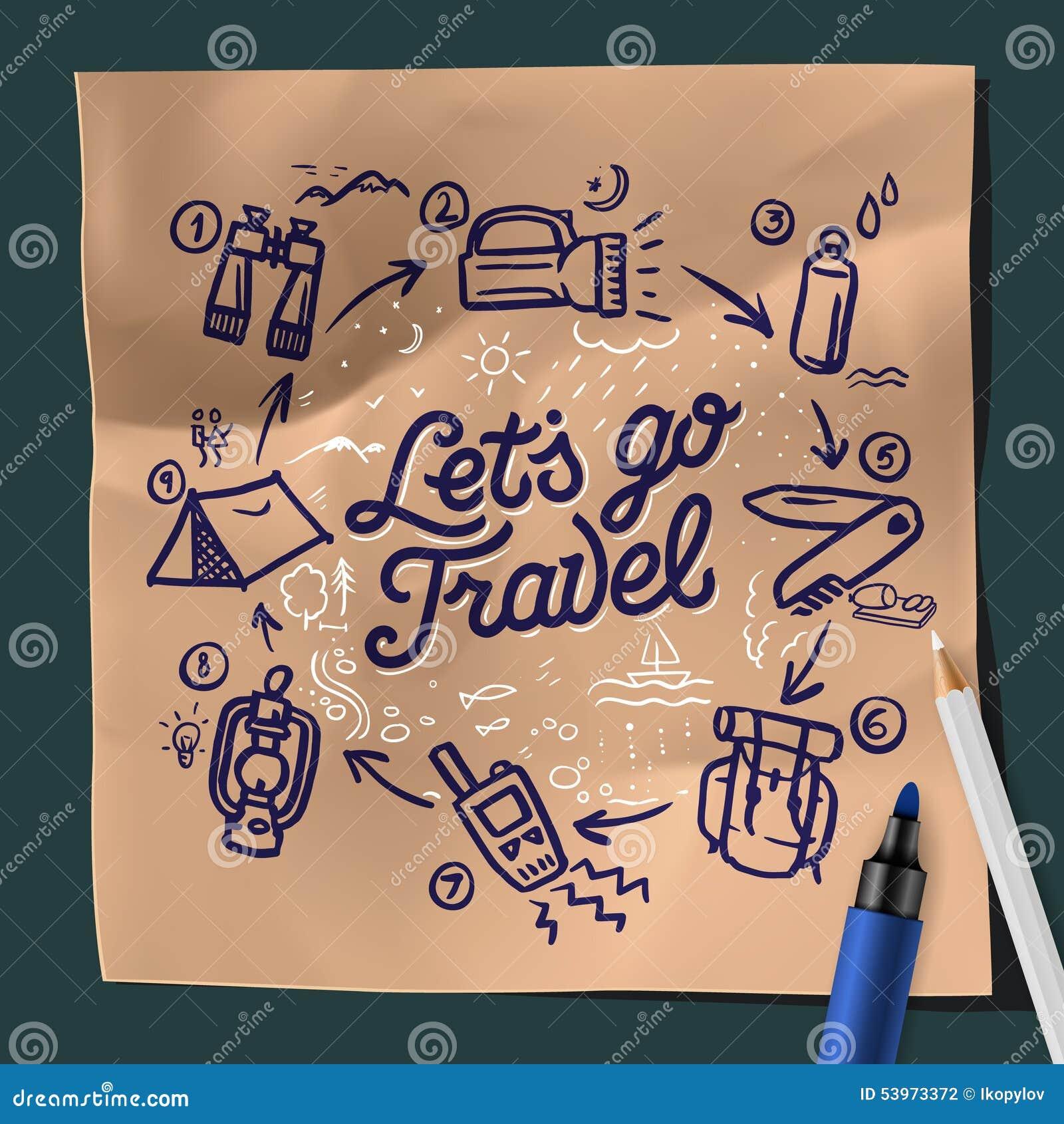 Lets go travel adventure motivation concept stock for Let s go fishing xl