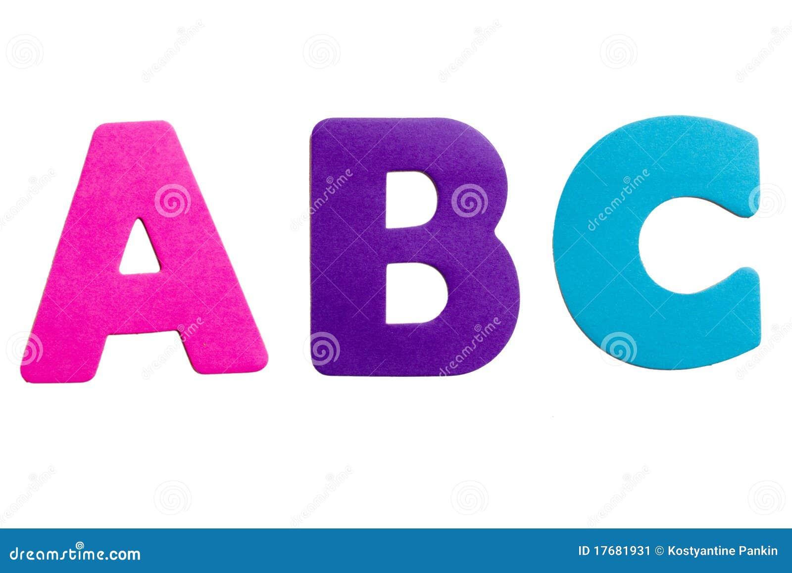 letter abc