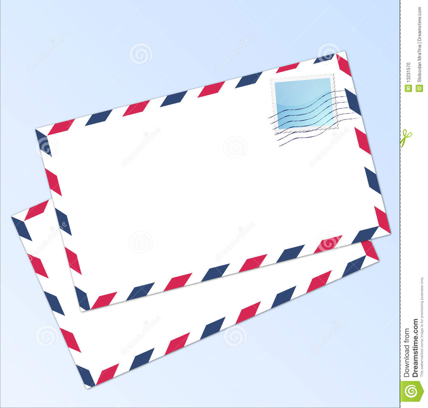 Letter Airmail Stock Photo Image 13231570