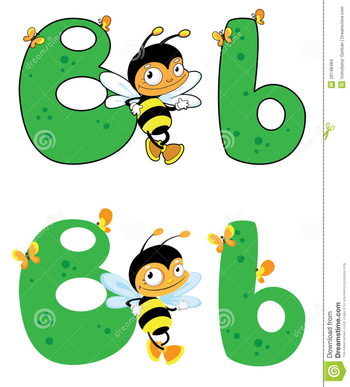 letter b bee