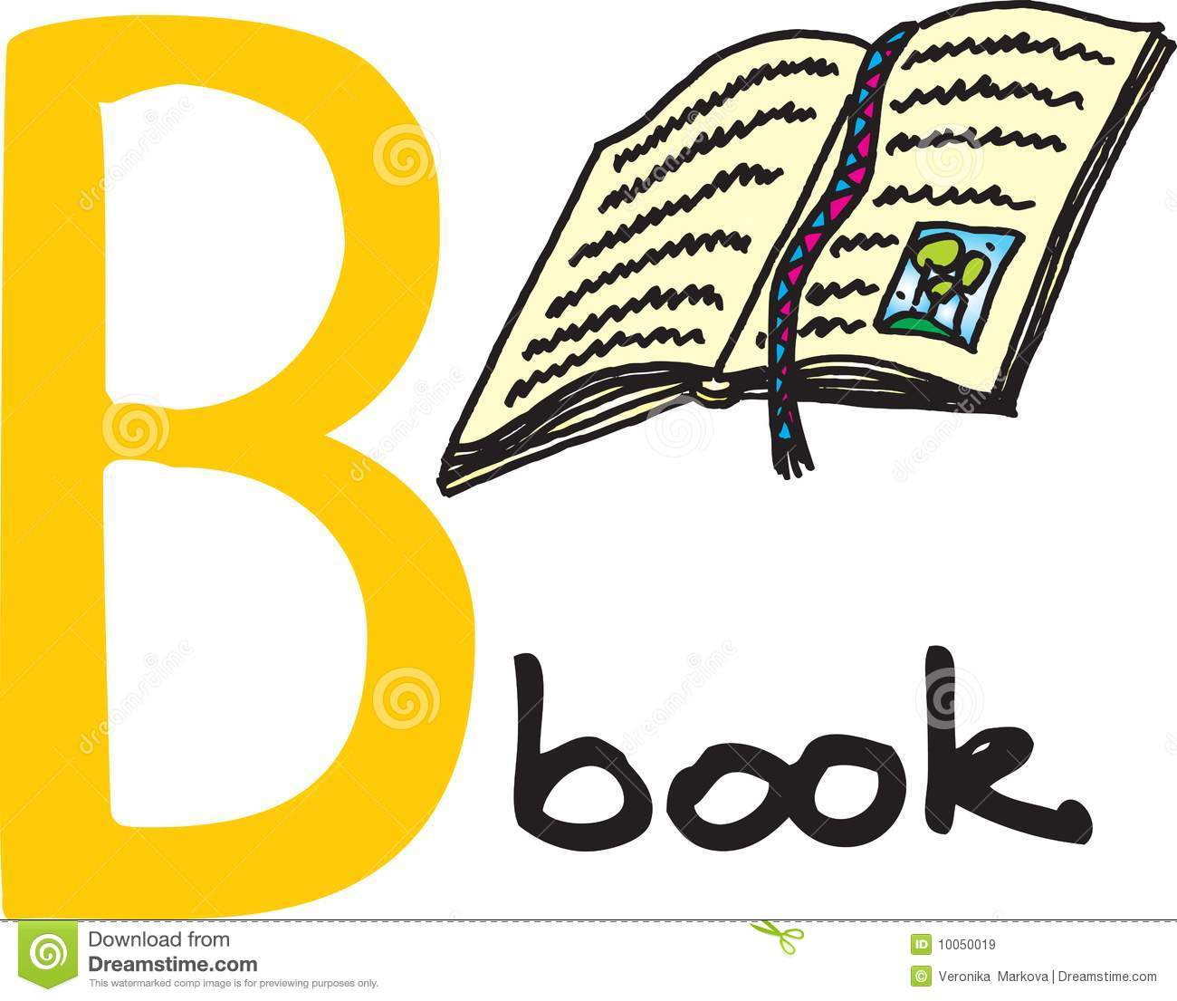 Letter B Book Royalty Free Stock Images Image 10050019