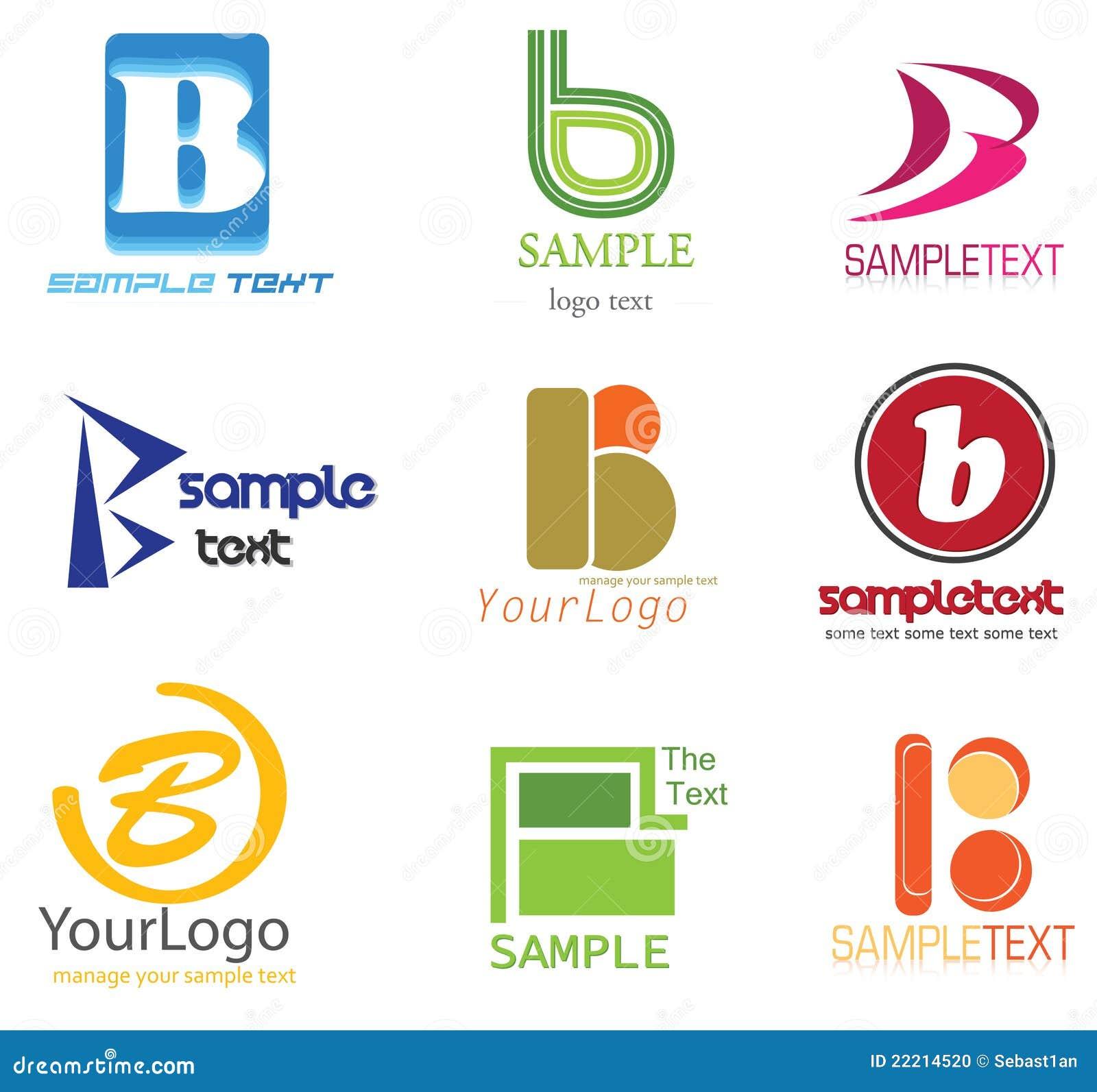 Letter B Logo Stock Vector. Illustration Of Brand, Culture