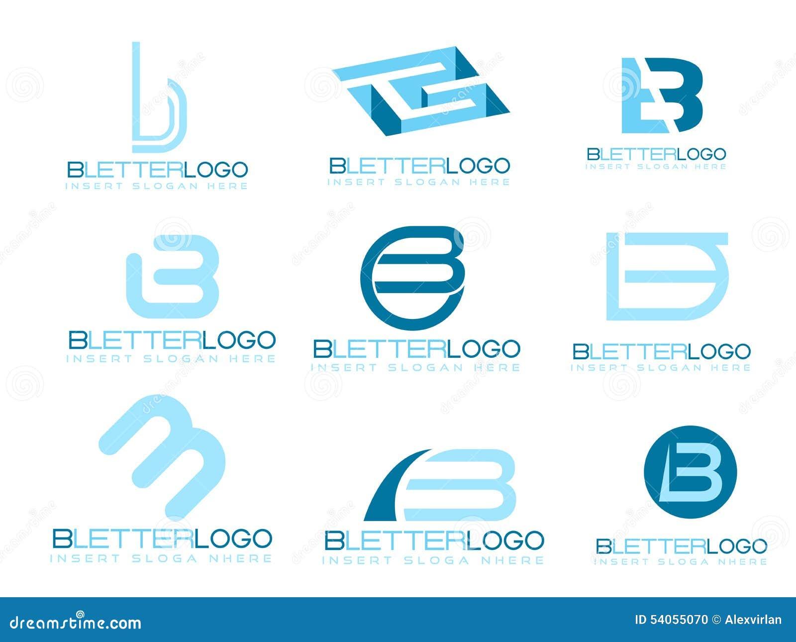 Letter B Logo Stock Vector - Image: 54055070