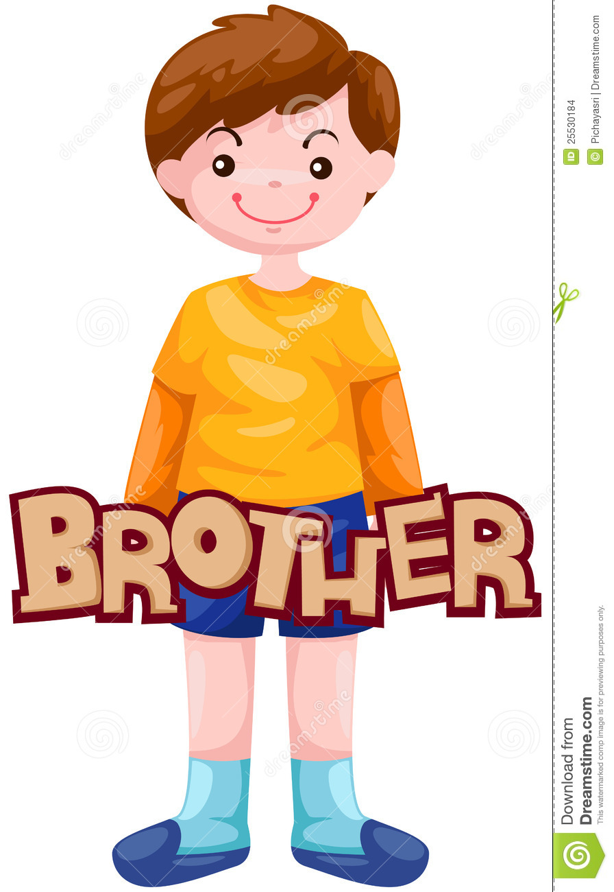 Brother Clip Art Letter of brotherOlder Brother Clipart