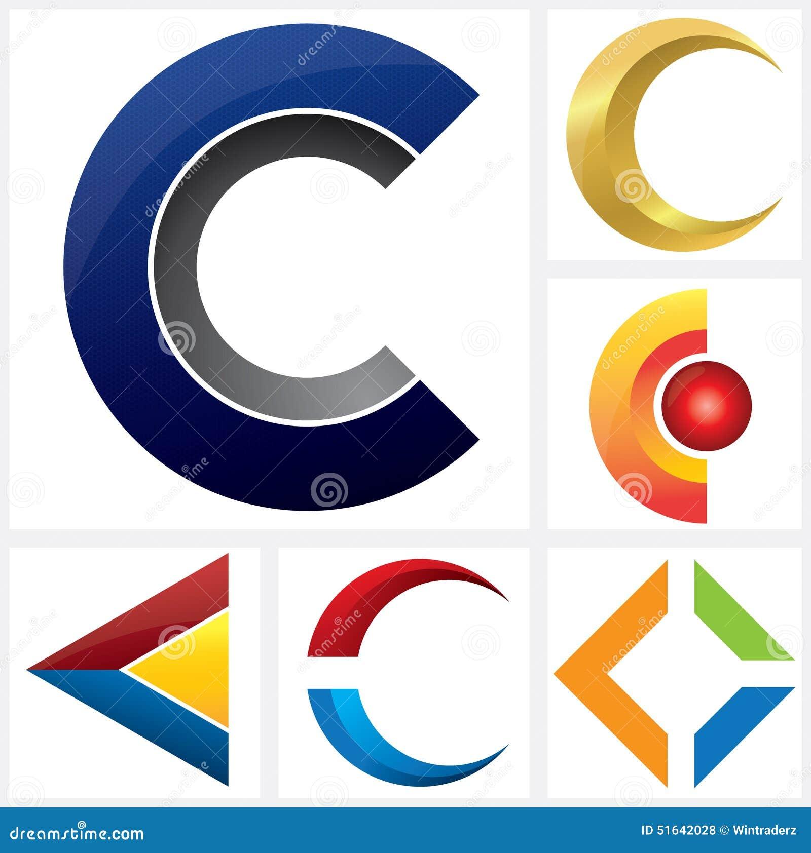 letter a alphabetical logo template stock vector image 51300267 letter c alphabetical logo template royalty stock photos