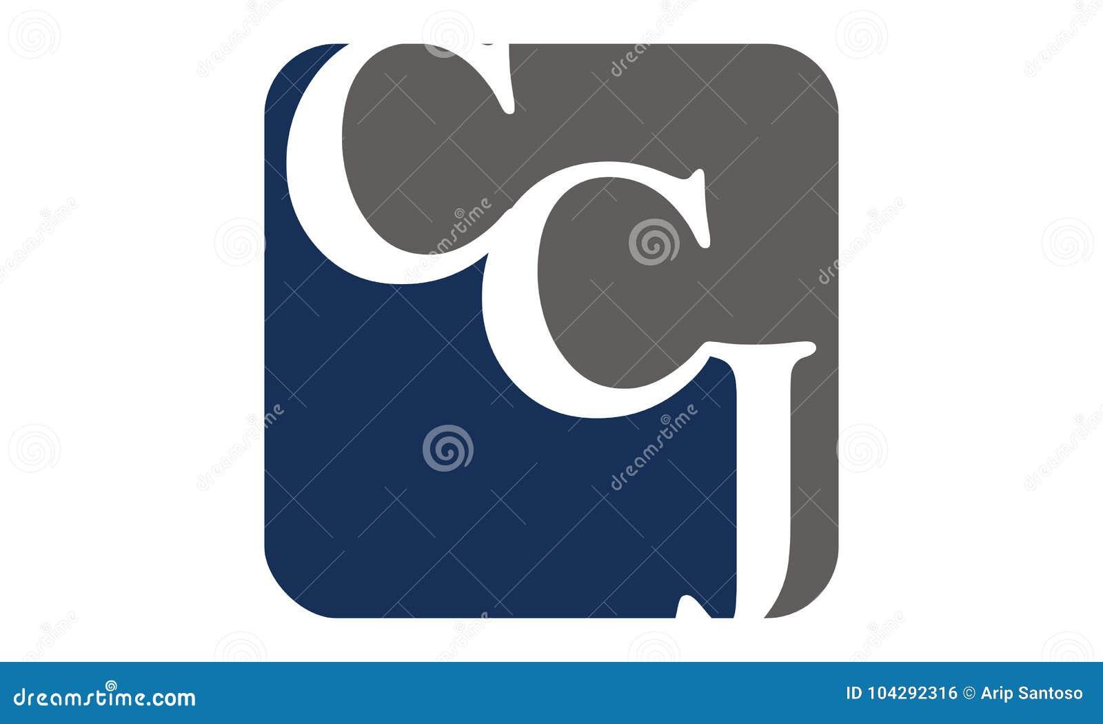 Letter C C J Modern Stock Vector Illustration Of Capital 104292316