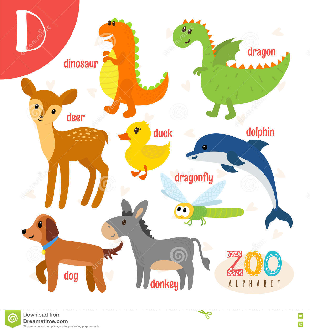 Animals Start With The Letter Z