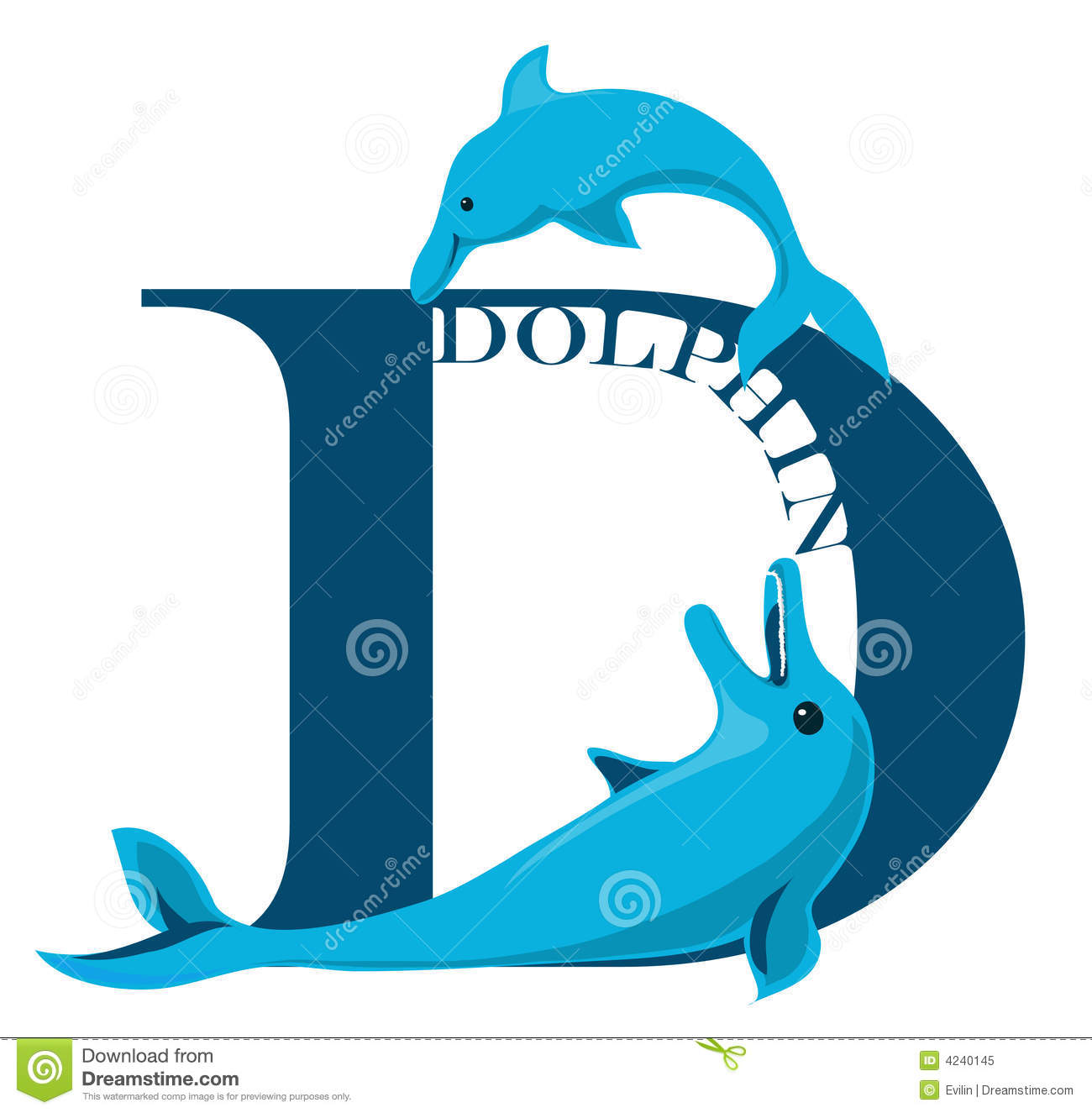 Letter d dolphin stock vector illustration of char 4240145 download letter d dolphin stock vector illustration of char 4240145 altavistaventures Image collections