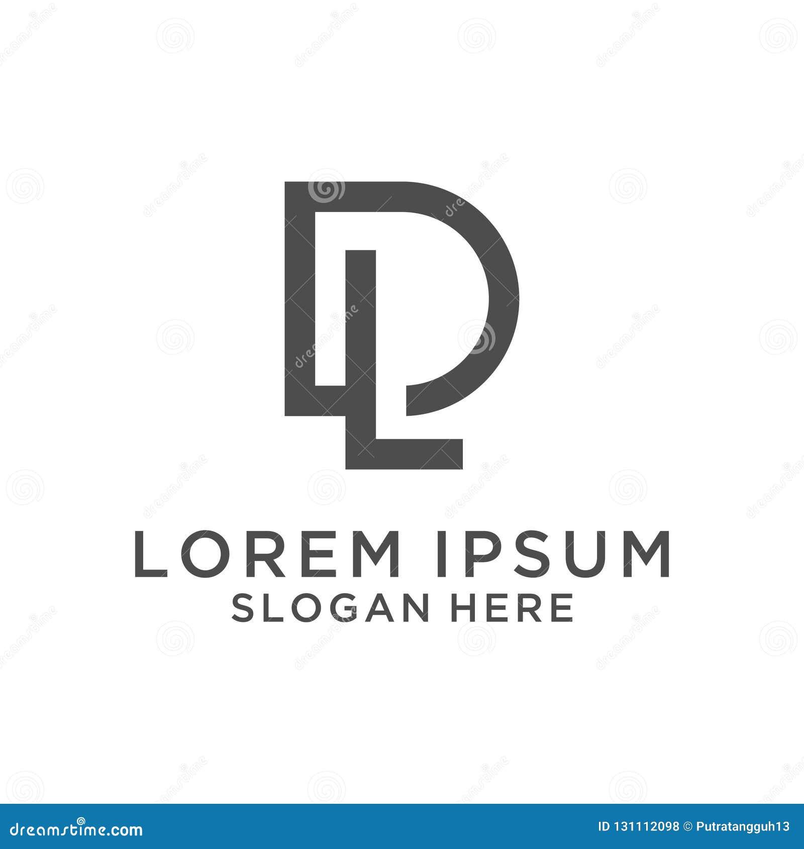 Letter Dl Logo Design Stock Illustration Illustration Of Colors 131112098
