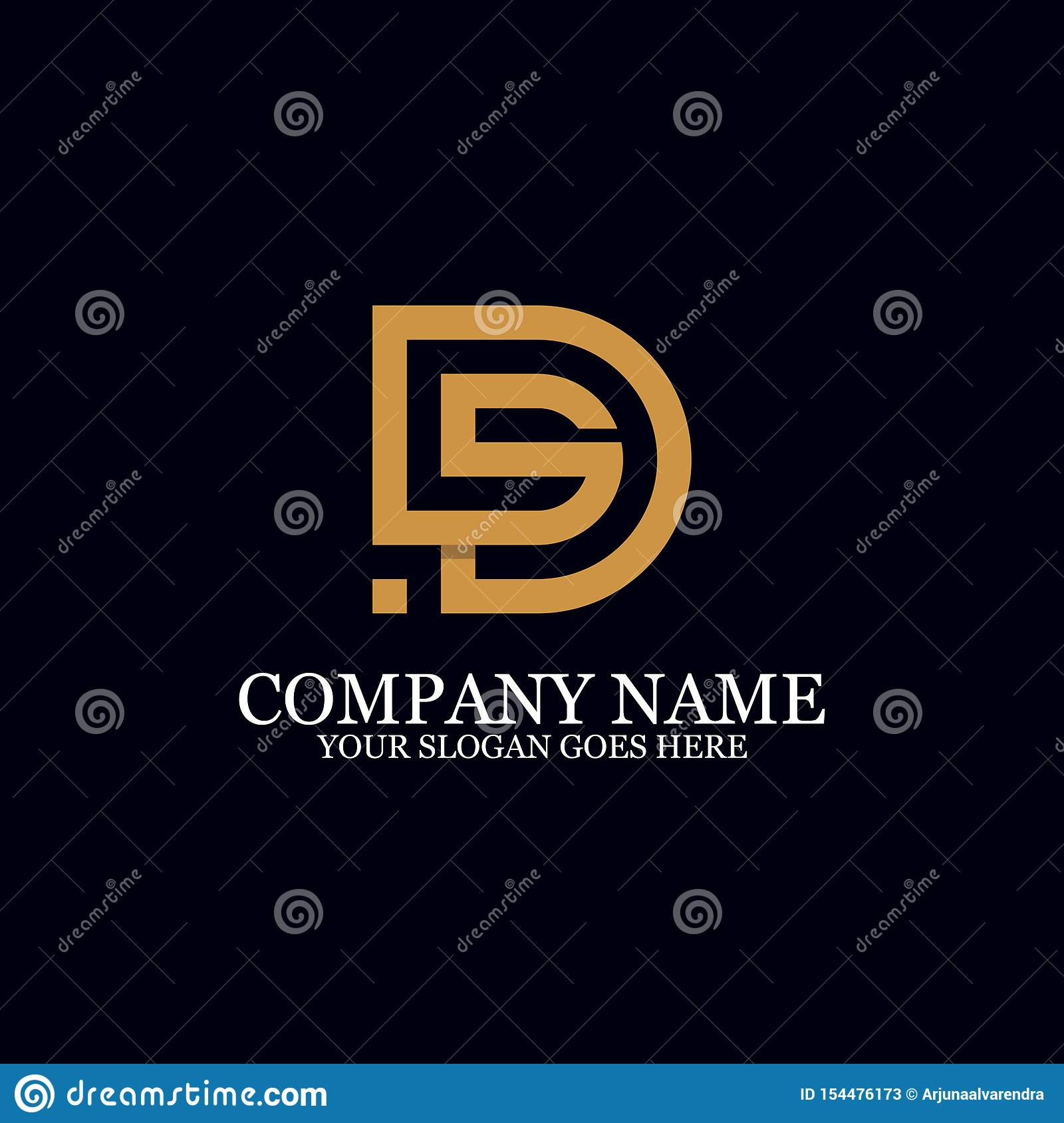 Letter DS Monogram Logo Inspiration, Great For Logo Marks