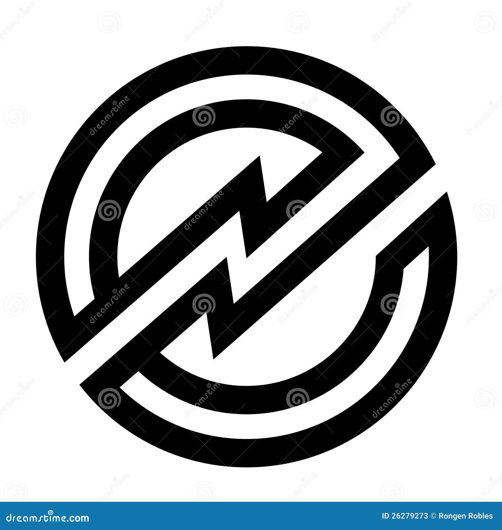 Letter e icon logo  E! Logo