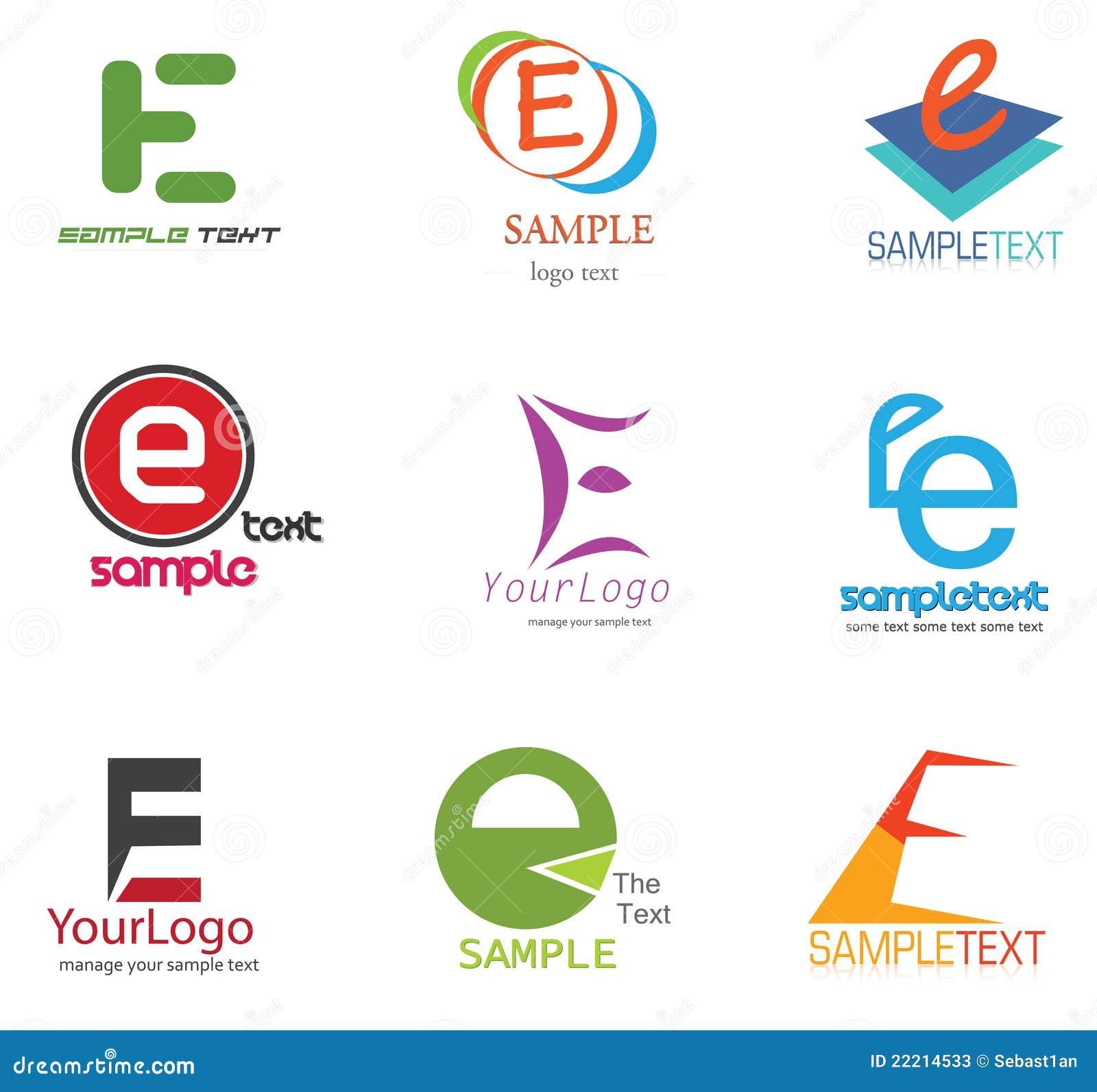 Letter E Logo  E! Logo