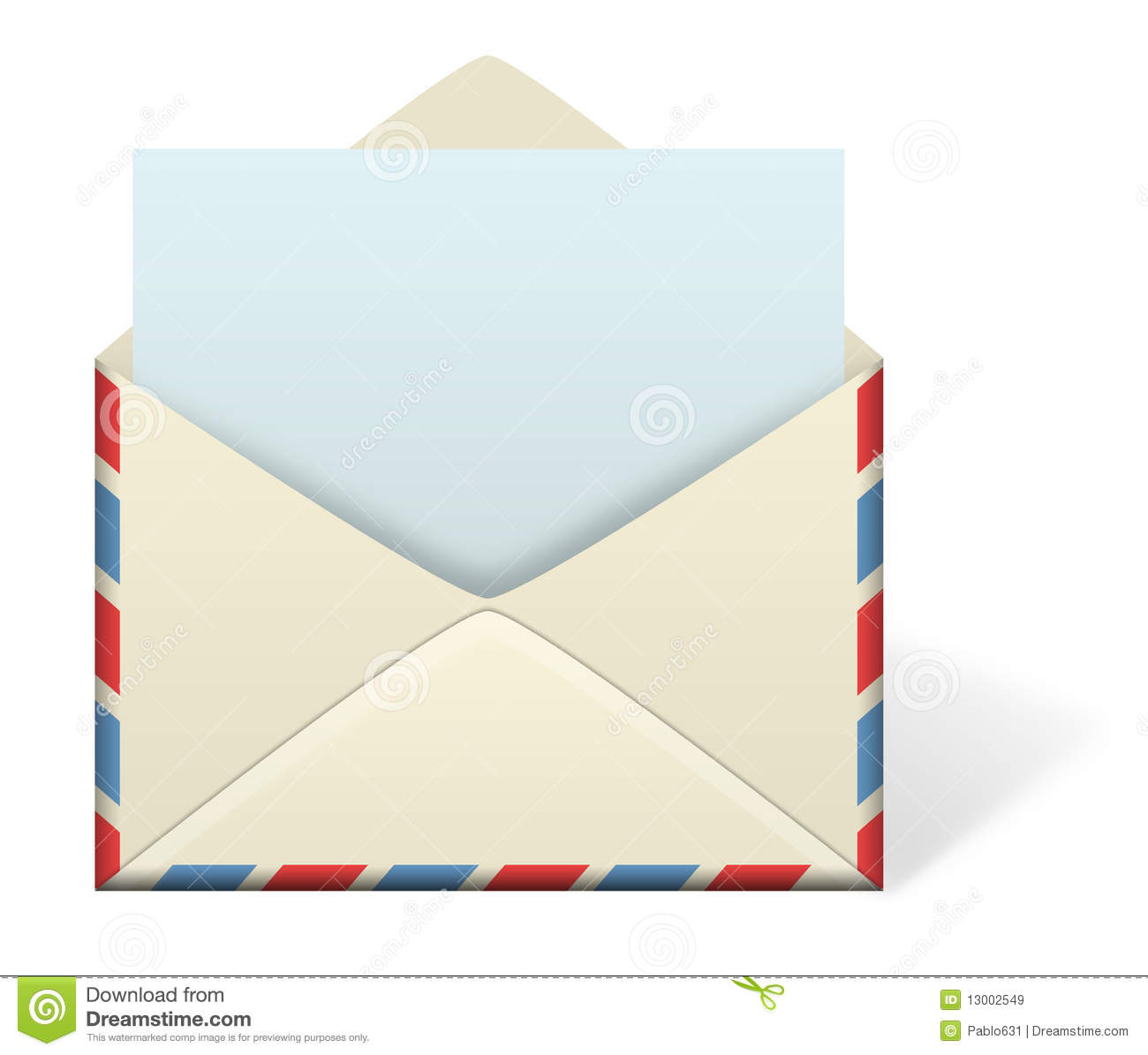 Letter Envelope Stock Illustration Of Postal
